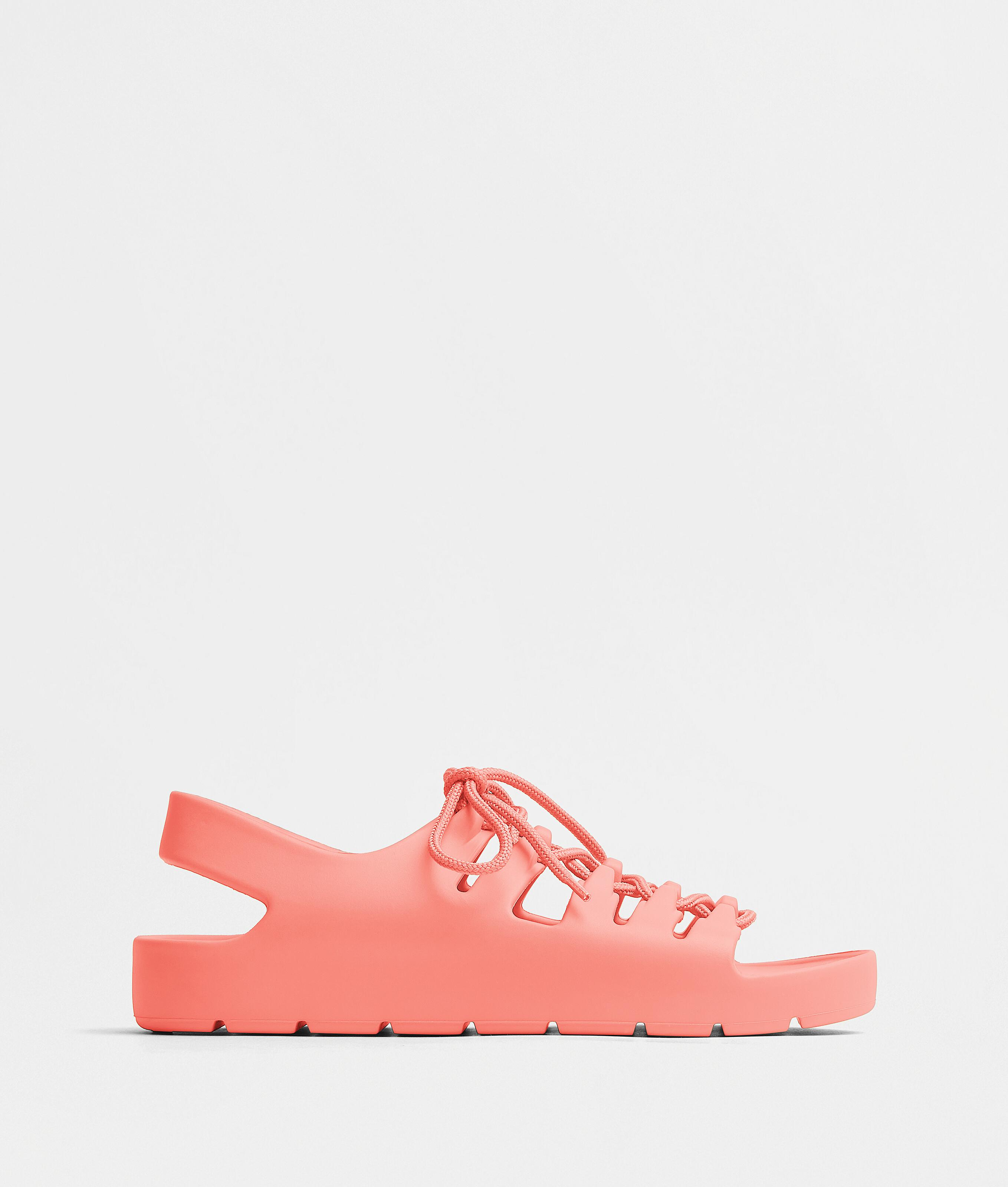 JELLY LACE-UP SANDALS
