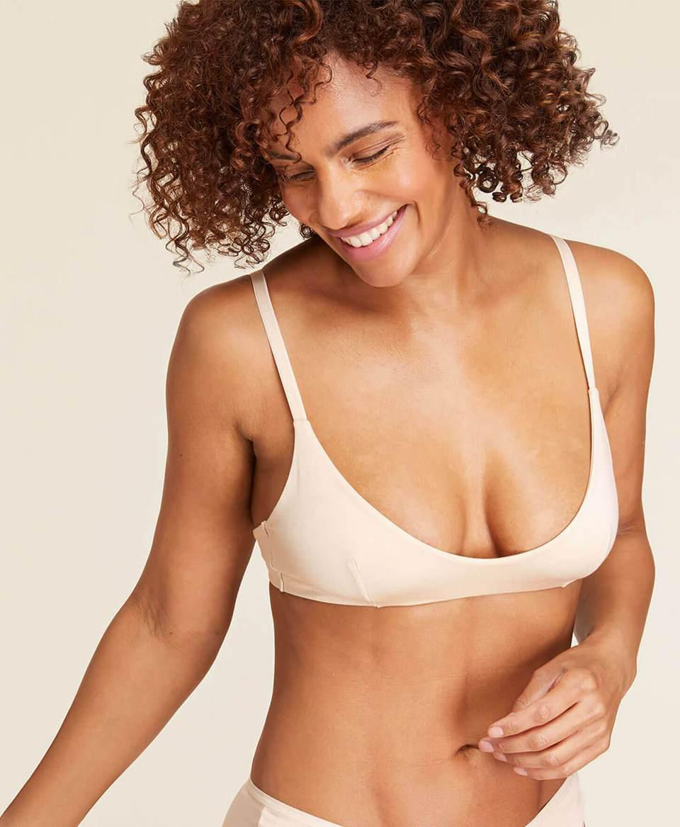 The Plunge Bralette—Rayon