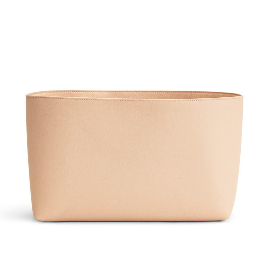 Women's Small Tote Organization Insert Bag in Blush Pink | Microsuede by Cuyana