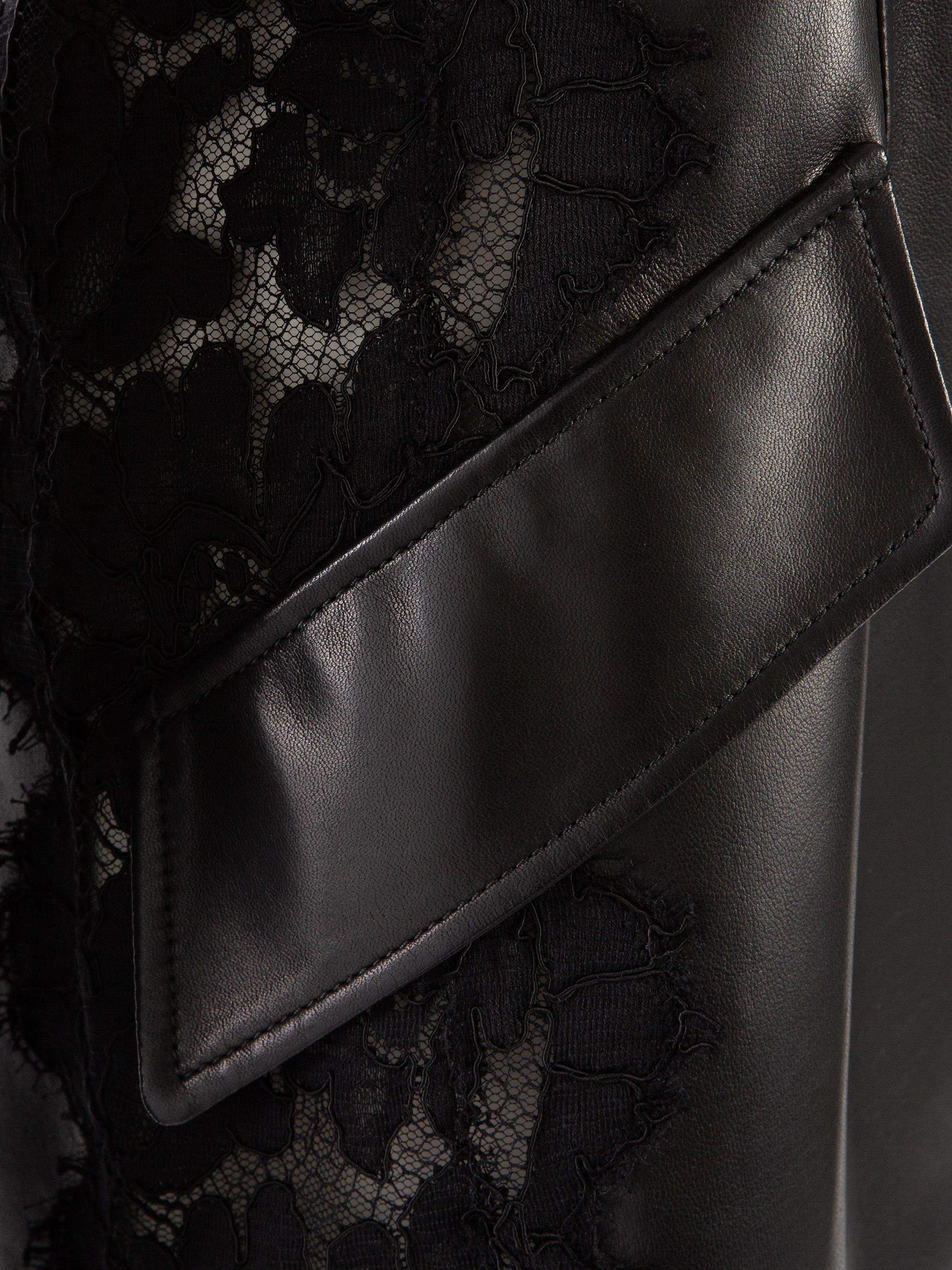Leather and Lace Jacket 4