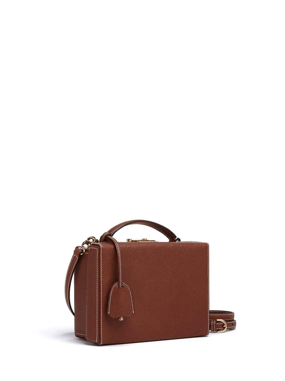 Grace Small Leather Box Bag 2