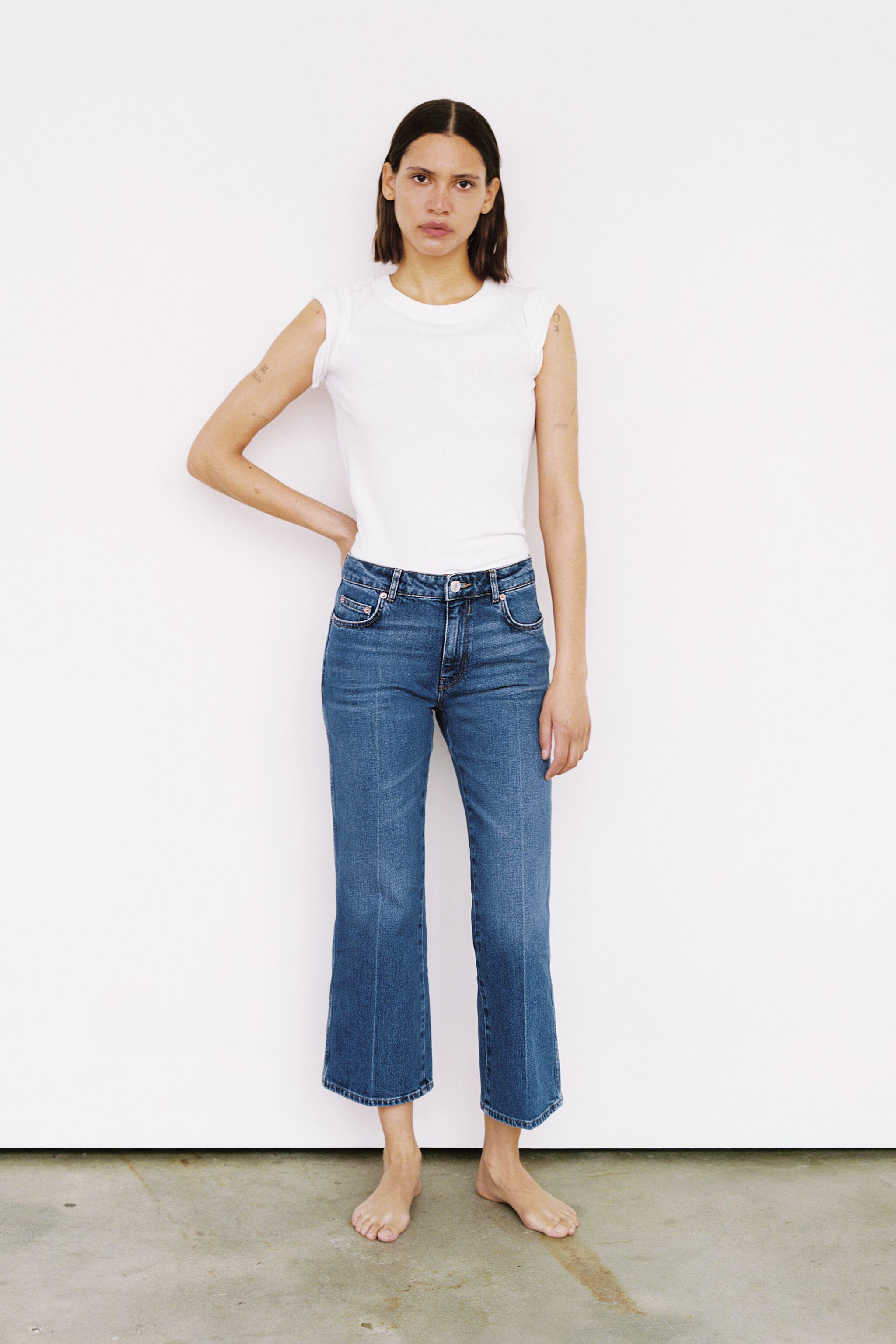ZW THE NESS CROPPED FLARE JEANS 0
