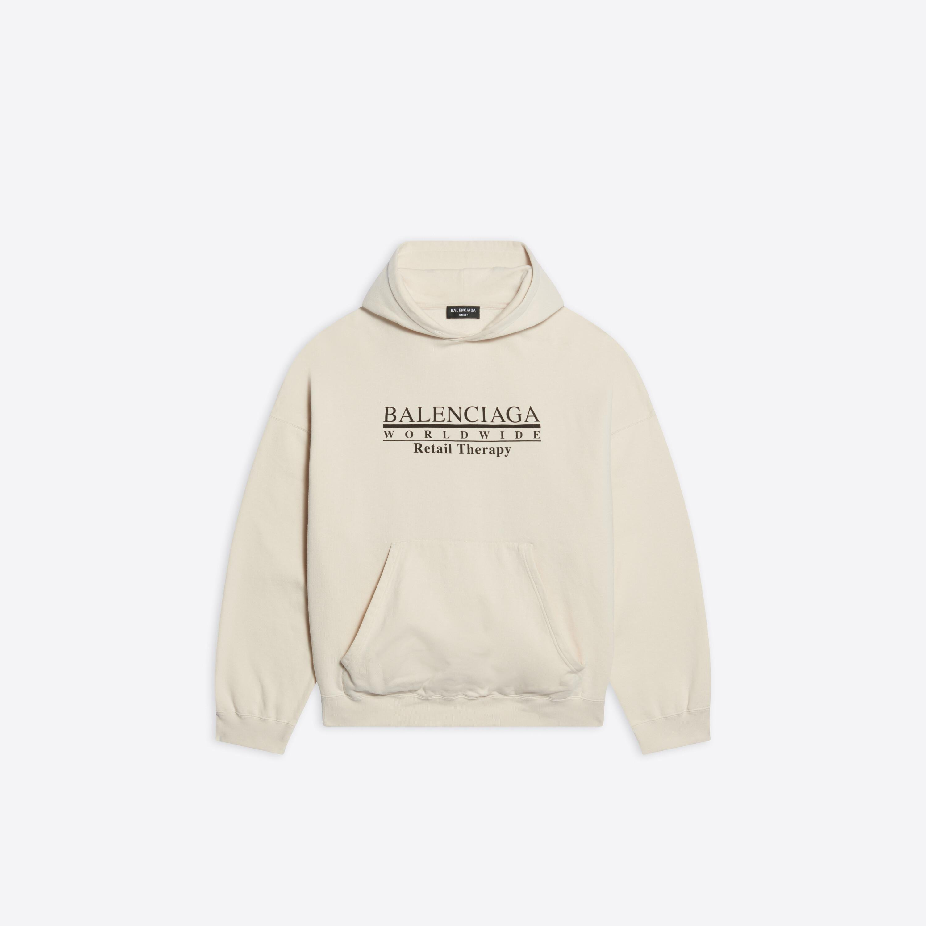 Retail Therapy Wide Fit Hoodie