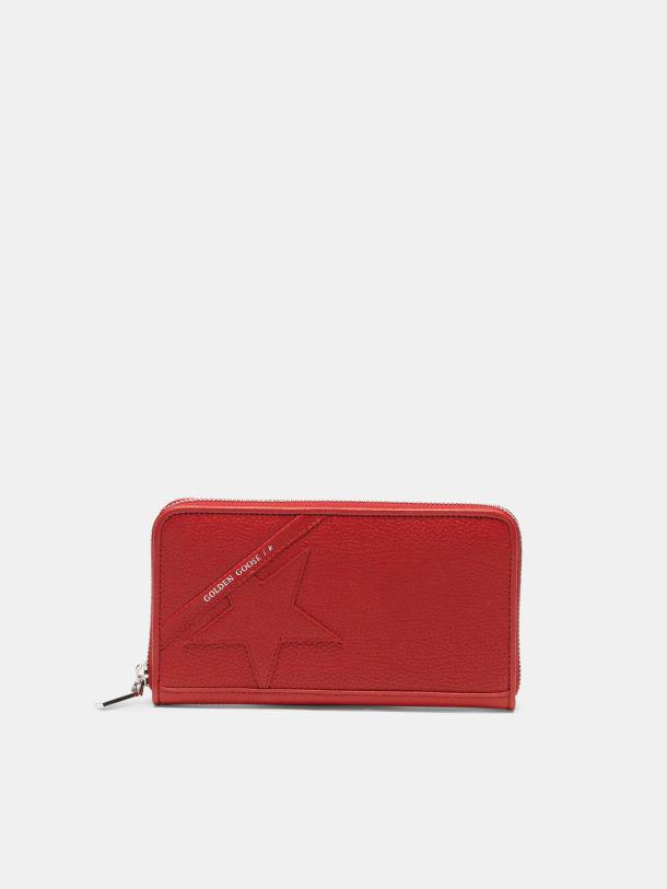 Large red Star Wallet 0