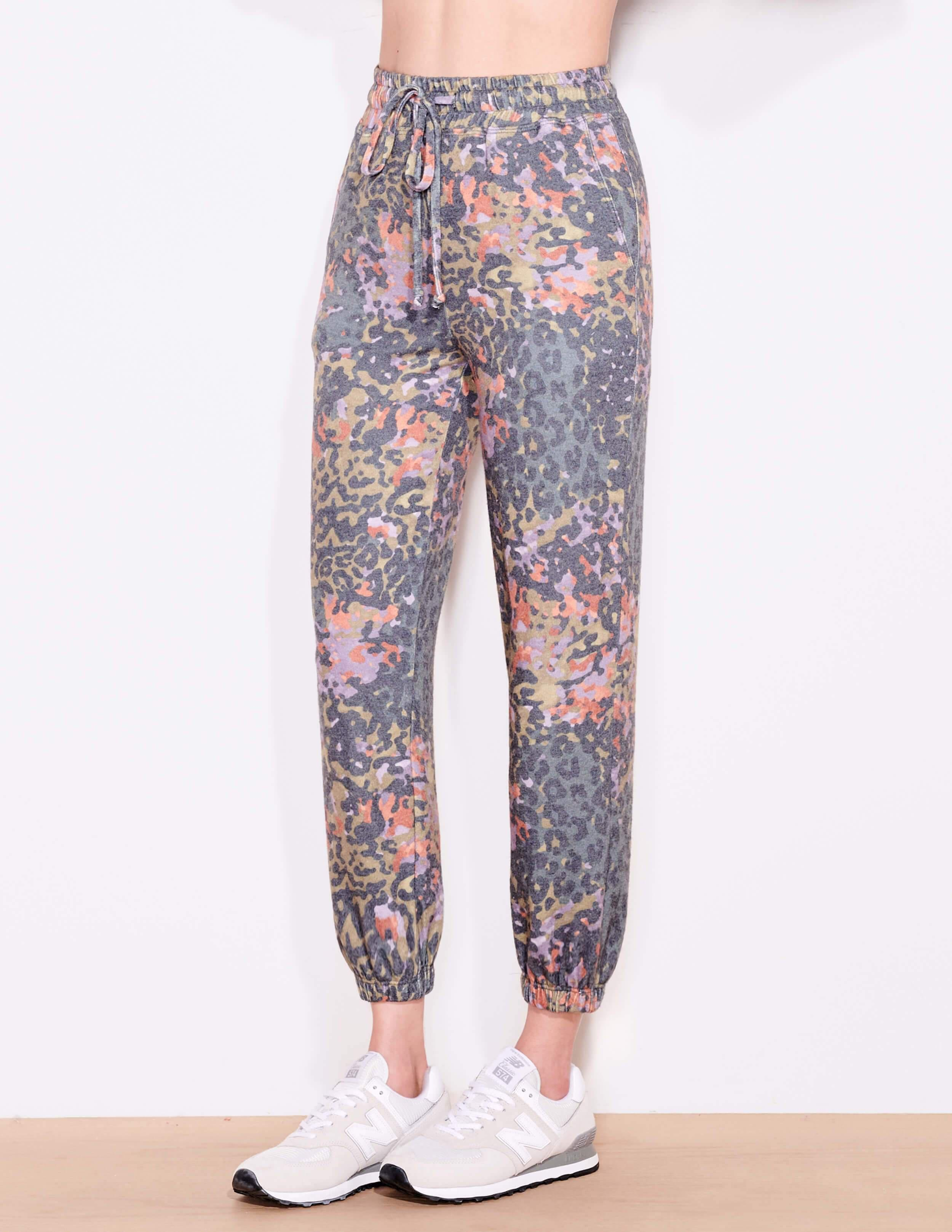 Abstract Camo Sweatpant