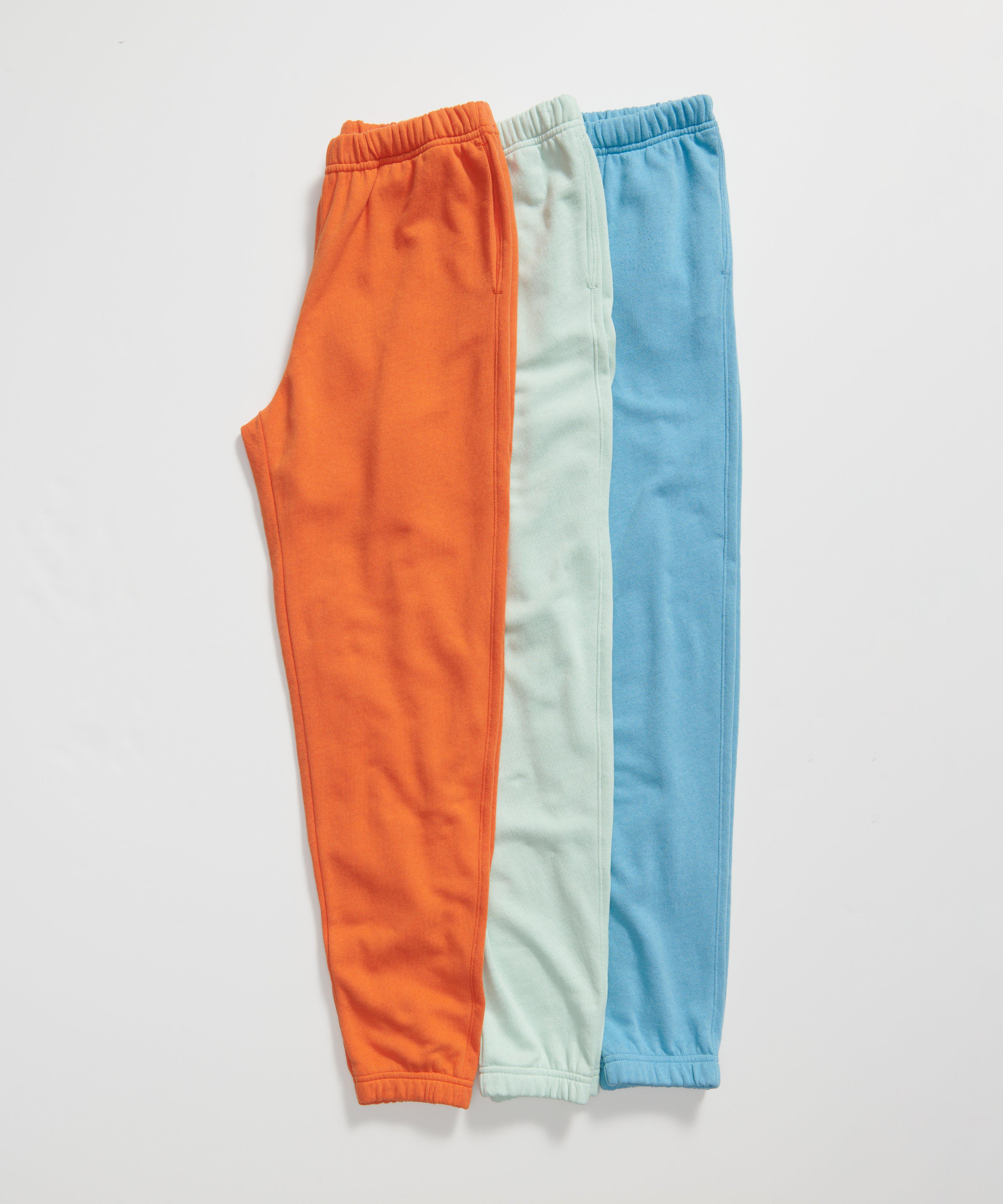 French Terry Pull-On Pant - Ocean Blue 5