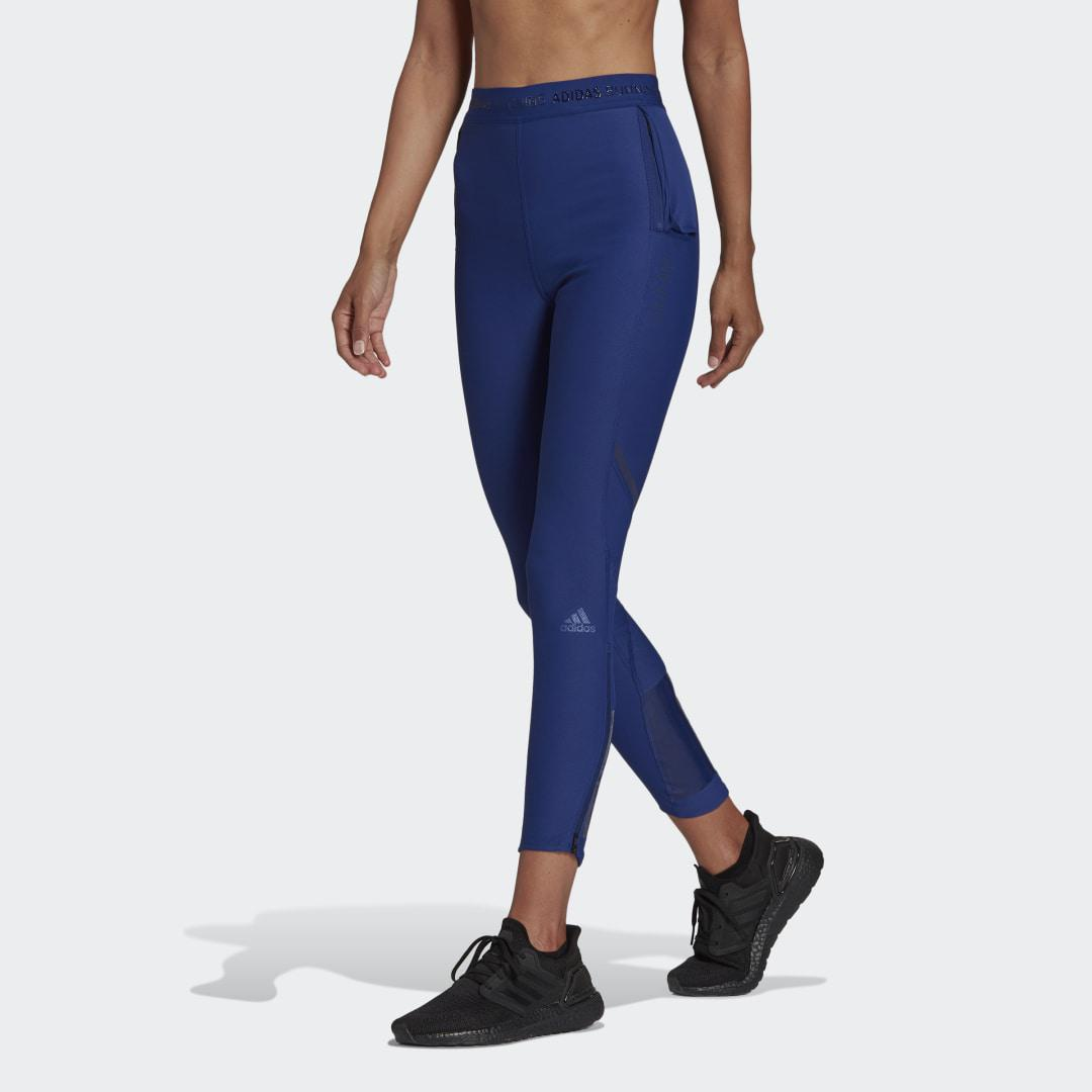 Own The Run COLD.RDY Running Leggings Victory Blue