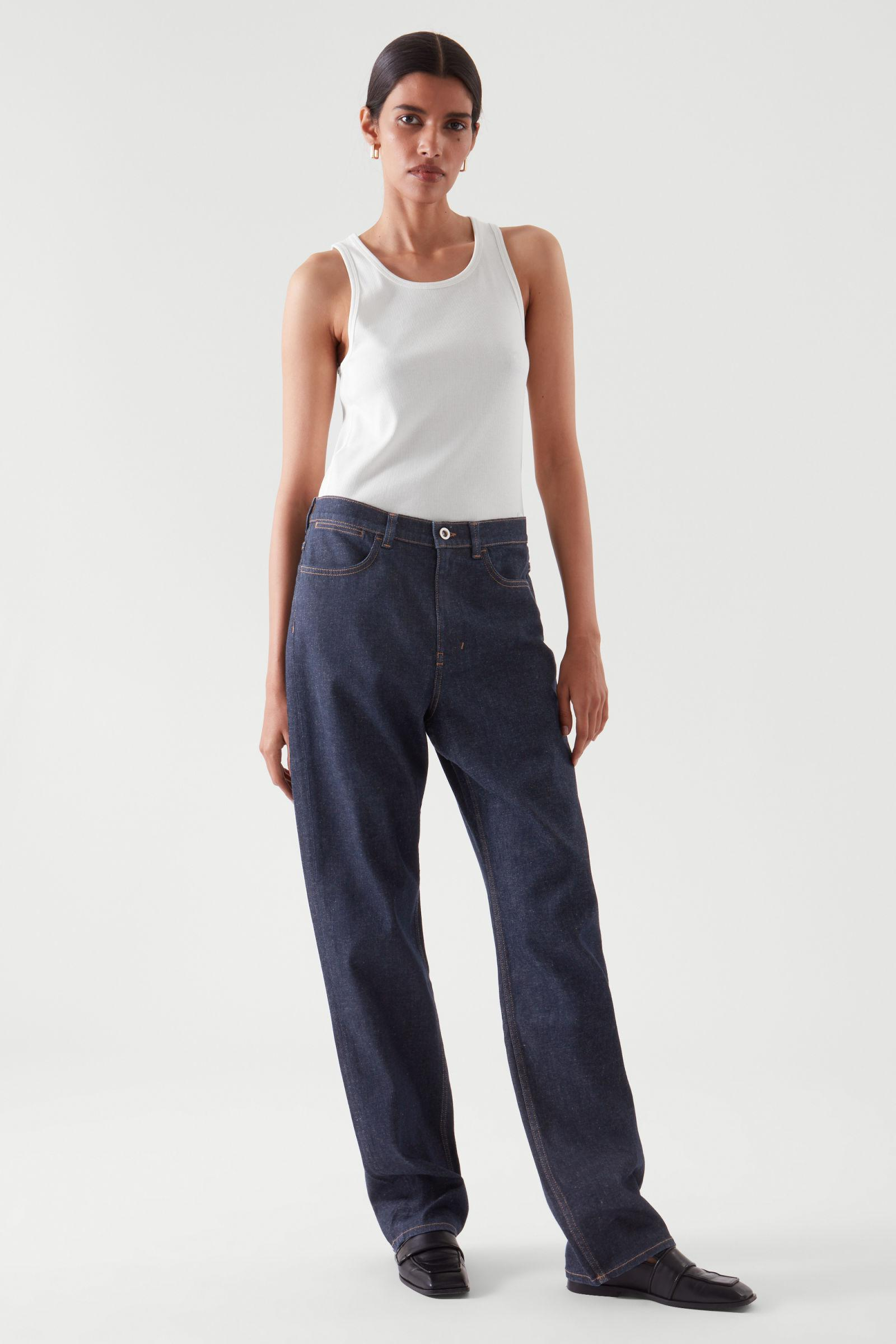 RELAXED STRAIGHT-FIT JEANS