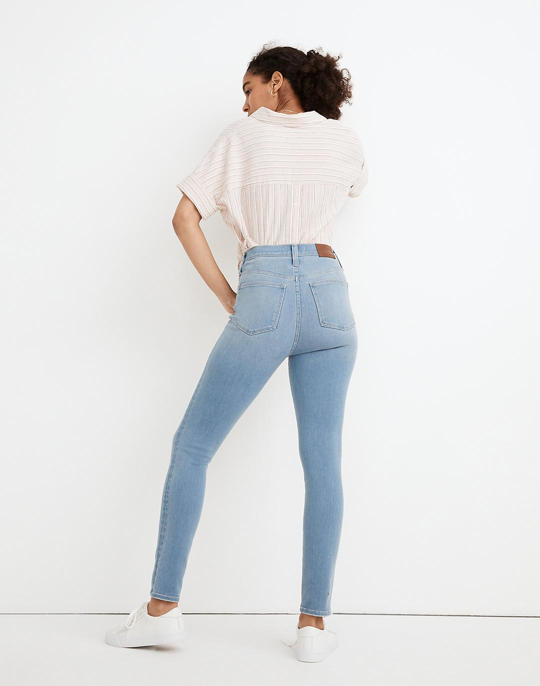 """Tall 10"""" High-Rise Roadtripper Supersoft Jeggings in Mcleod Wash 2"""