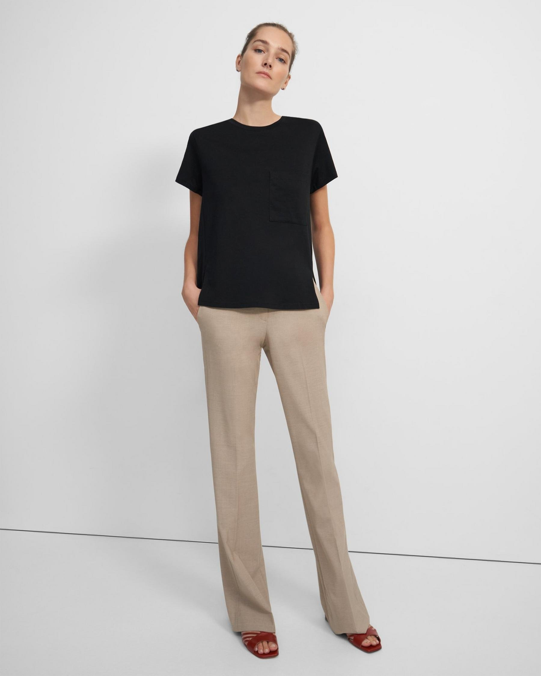 A-Line Tee in Cotton