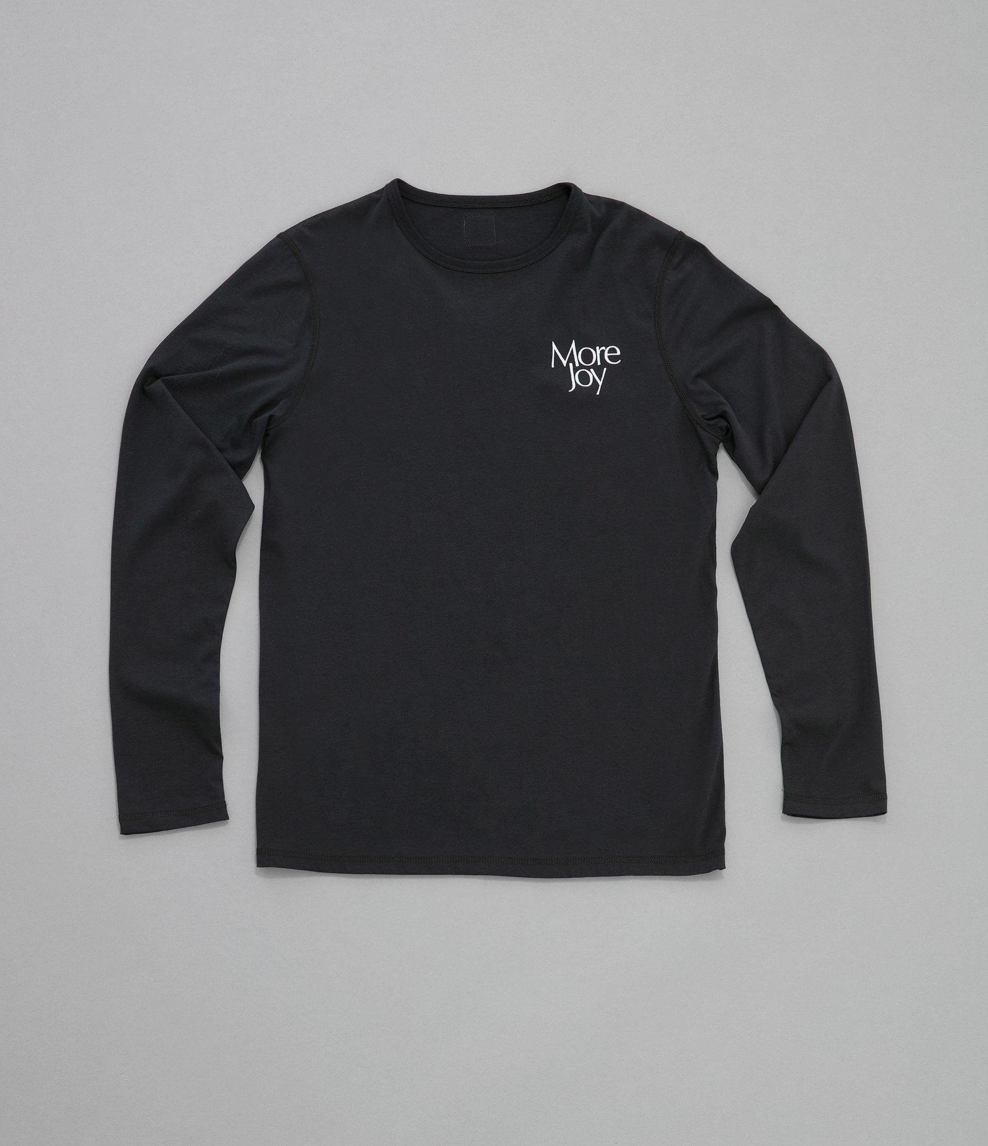 More Joy embroidered long sleeve t-shirt 5