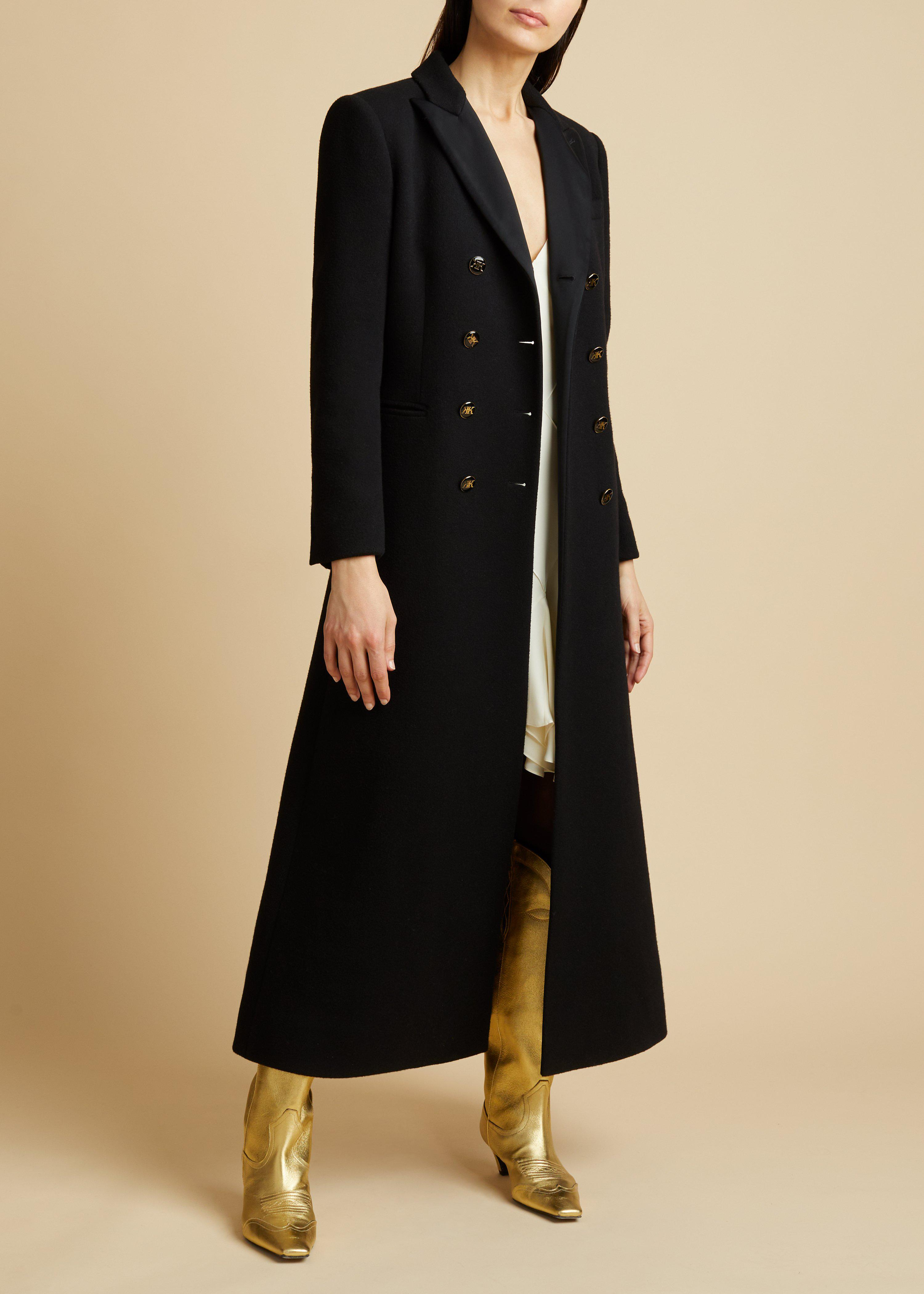The Marge Coat in Black
