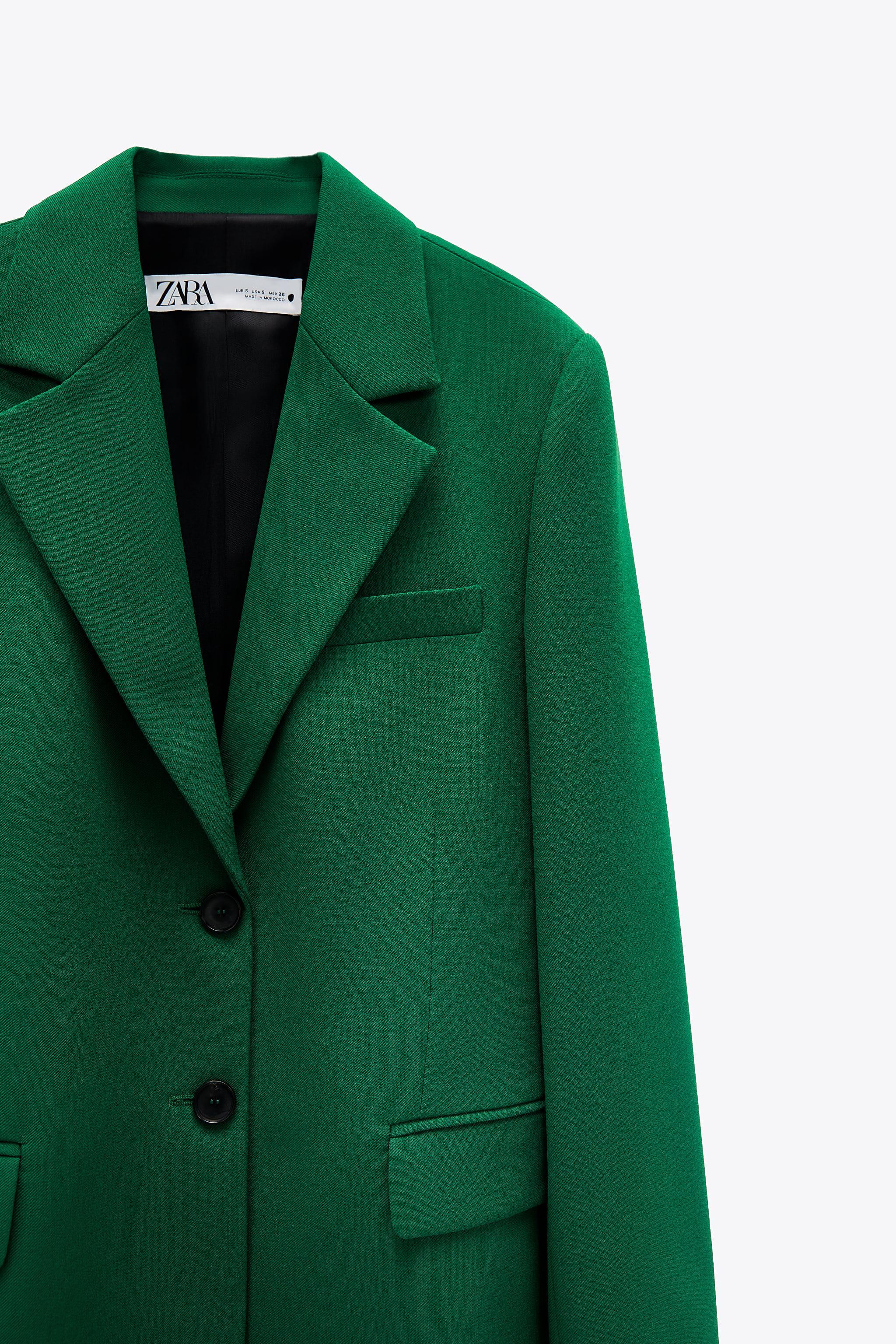 FITTED BLAZER WITH POCKETS 4