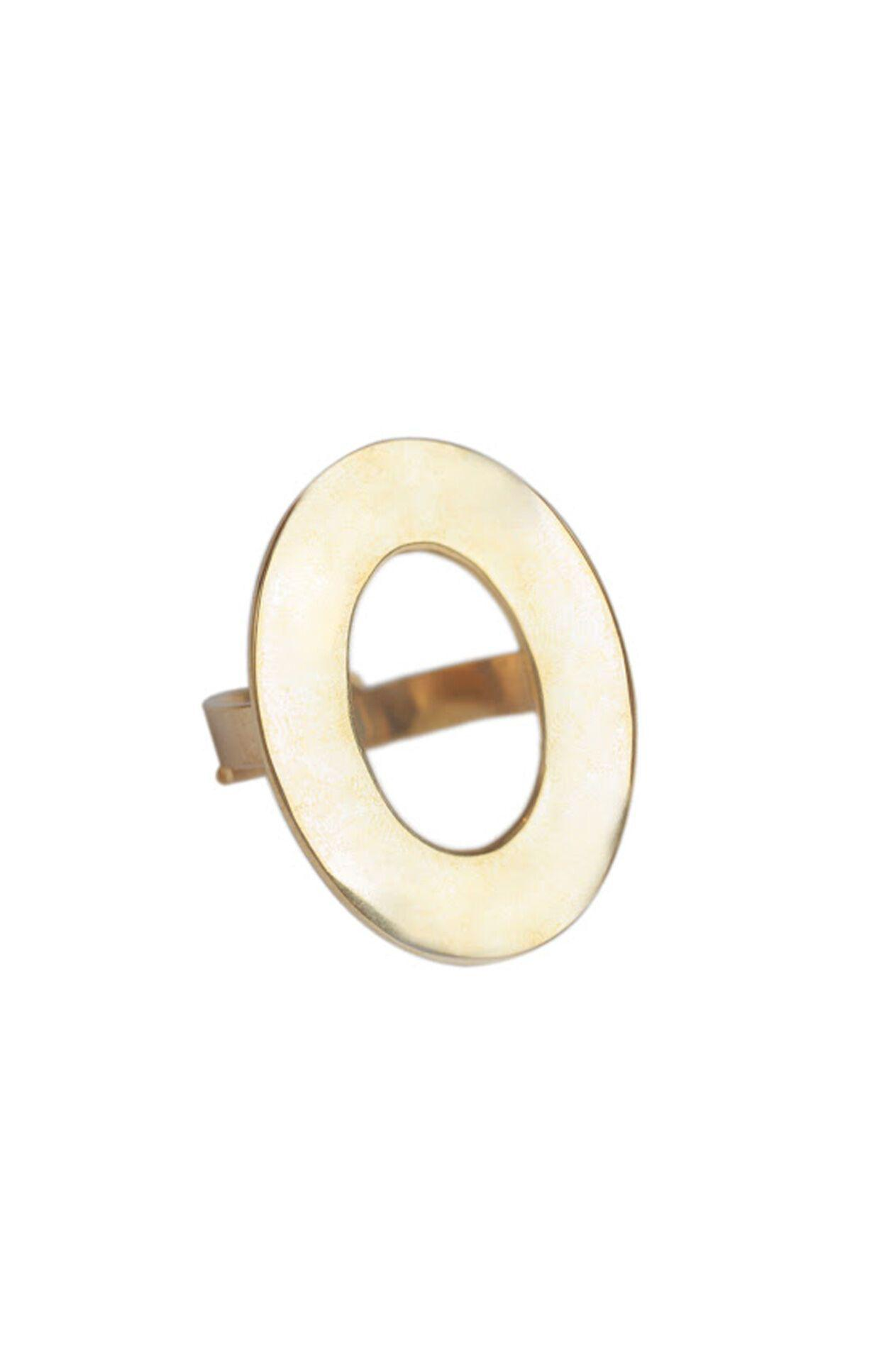 OPEN OVAL STATEMENT RING 0