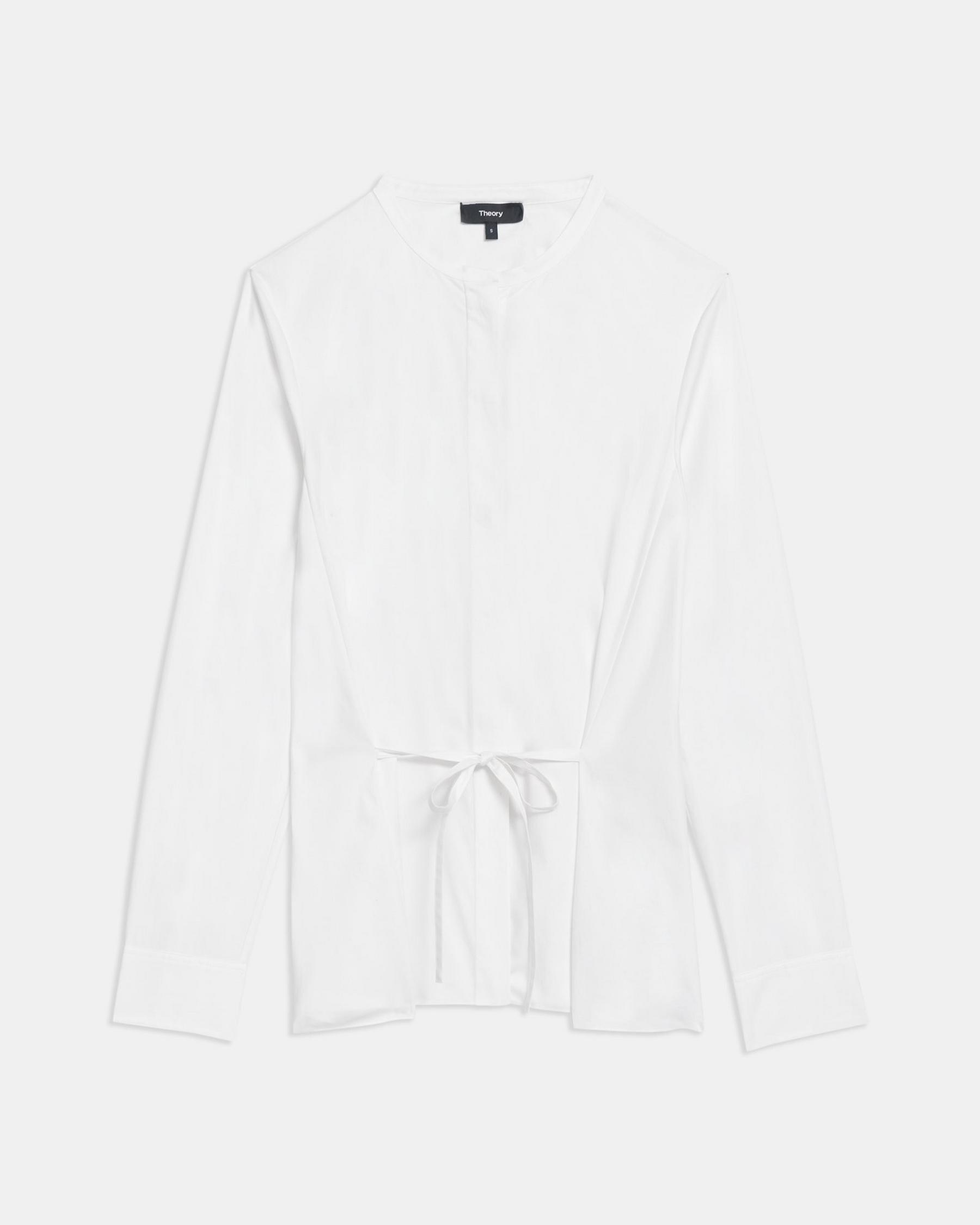 Cinched Shirt in Good Cotton 5
