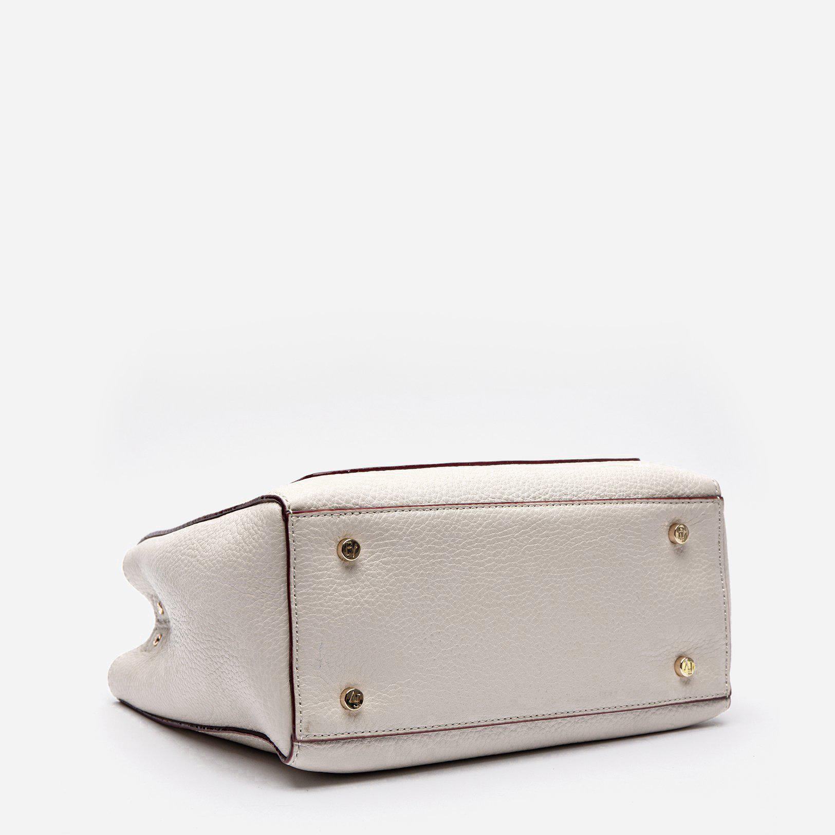 Small Chloe Tumbled Leather Oyster 3