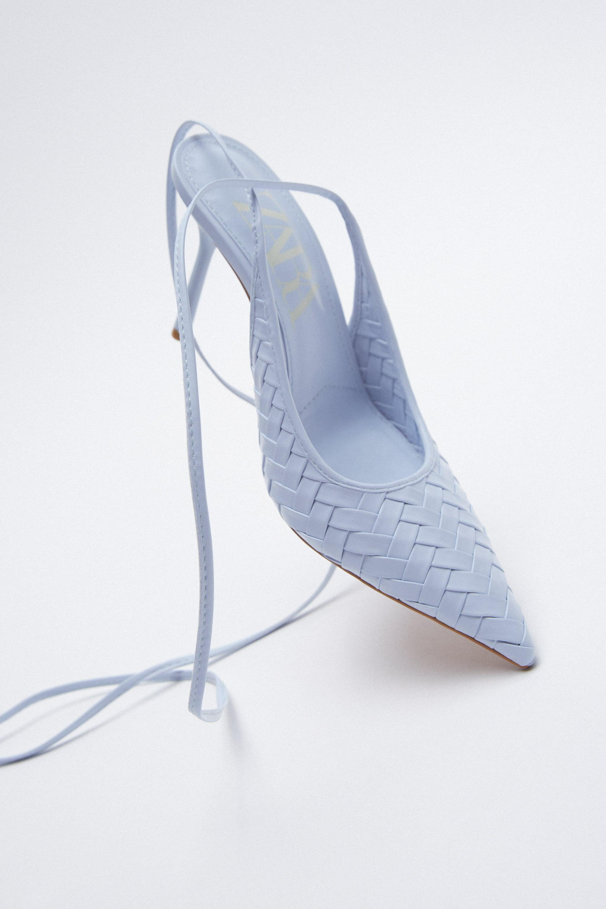 WOVEN HEELS WITH ANKLE STRAP 5