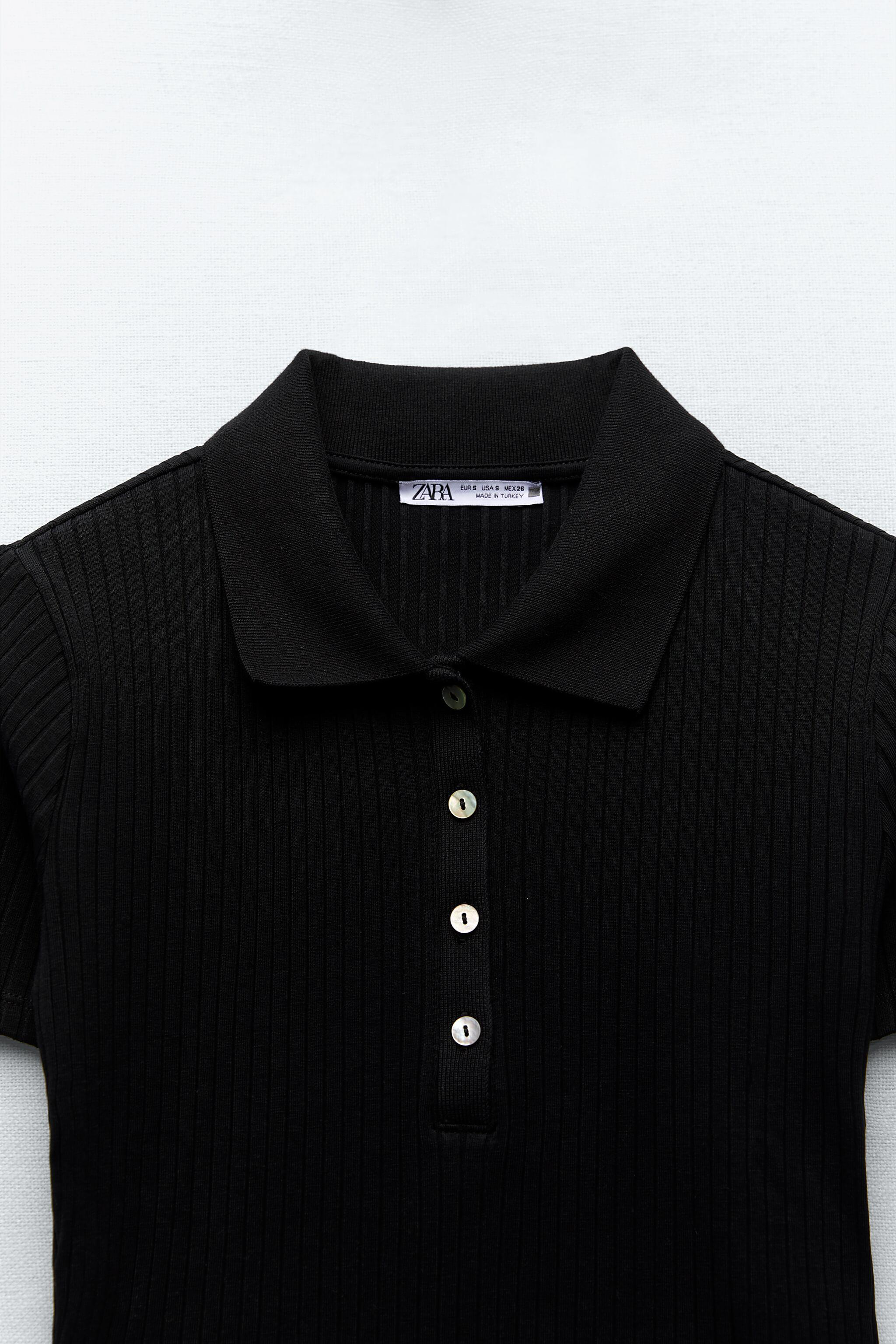 RIBBED BUTTONED POLO 6