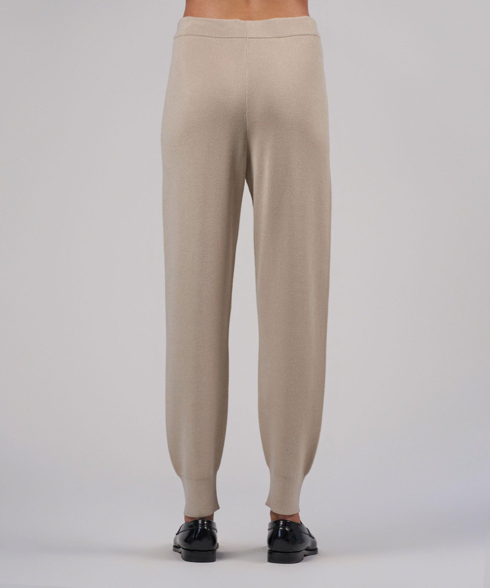 Cashmere Silk Pull-On Pant - Canvas 2