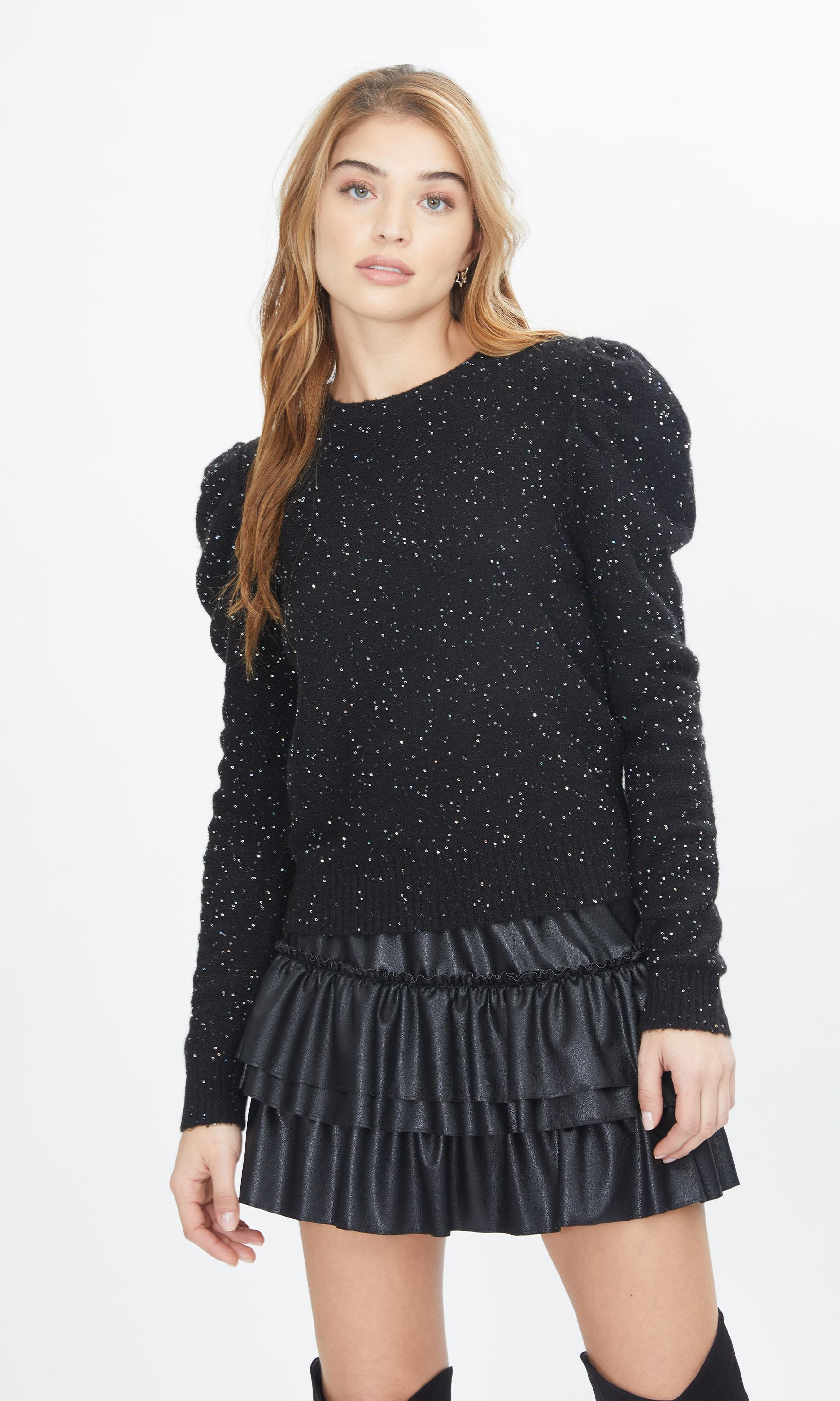 Tinsley Sequin Sweater 0