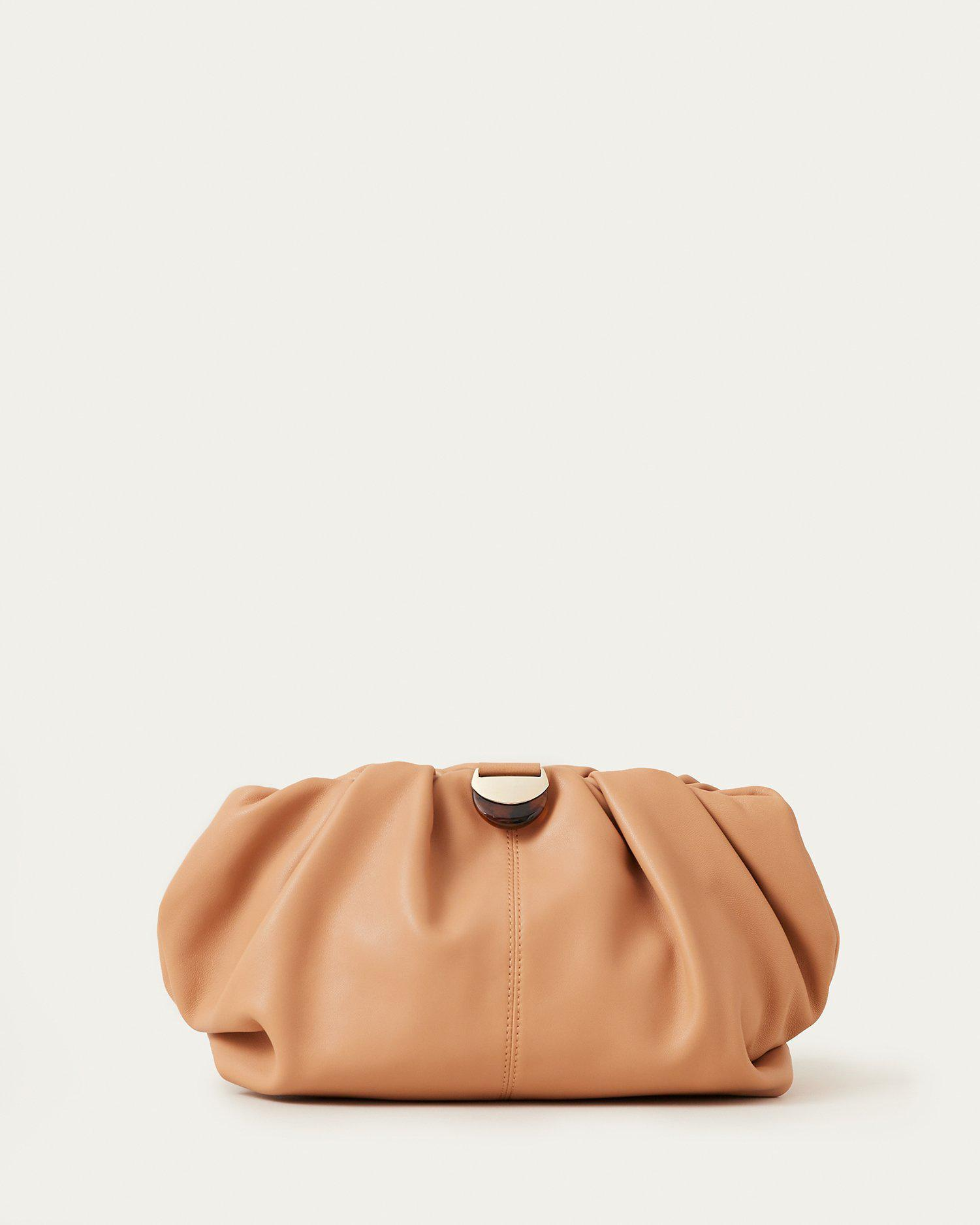 Analeigh Dune Gathered Clutch