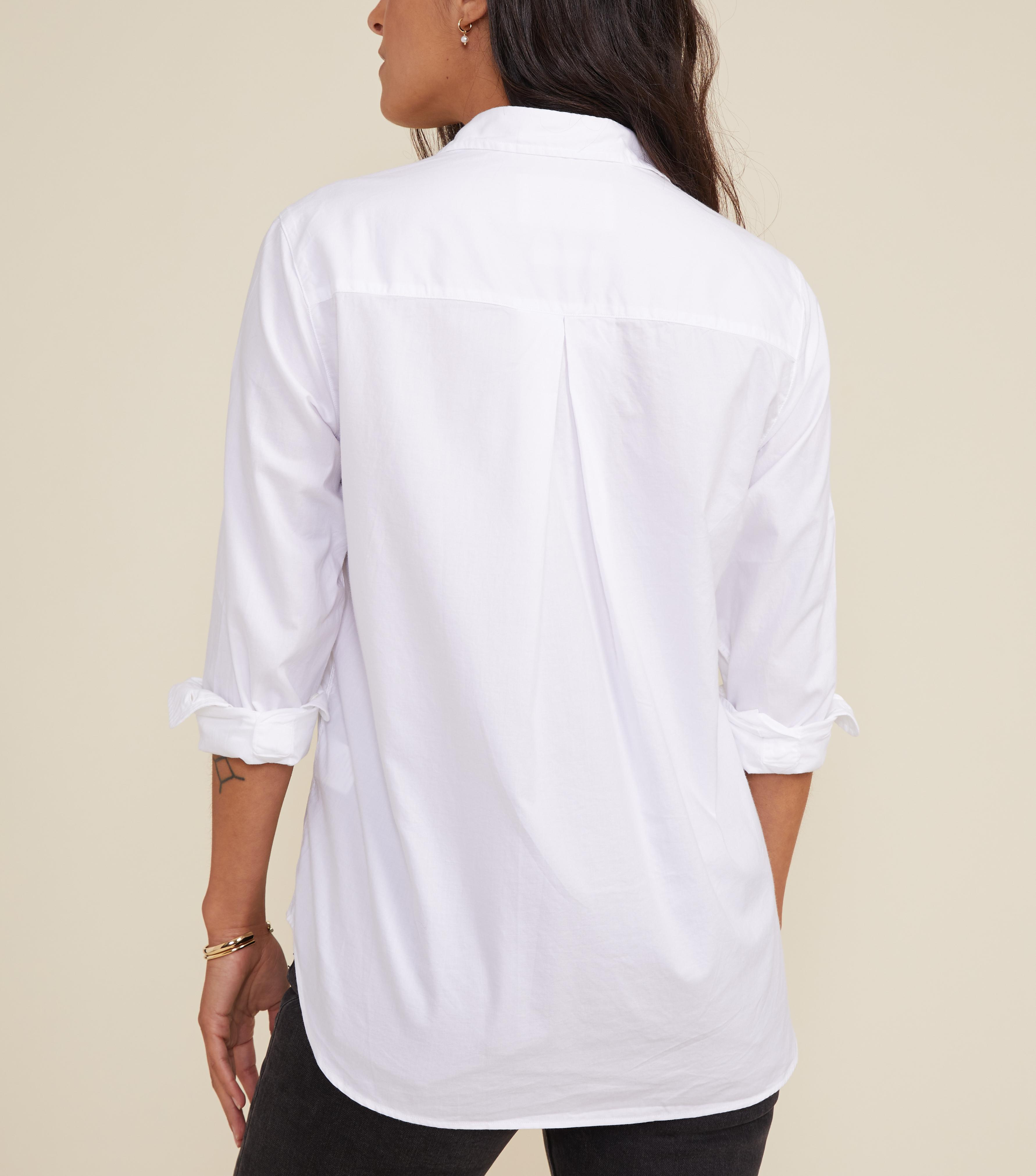 The Hero Button-Up Shirt Bold, Brushed Cotton 1