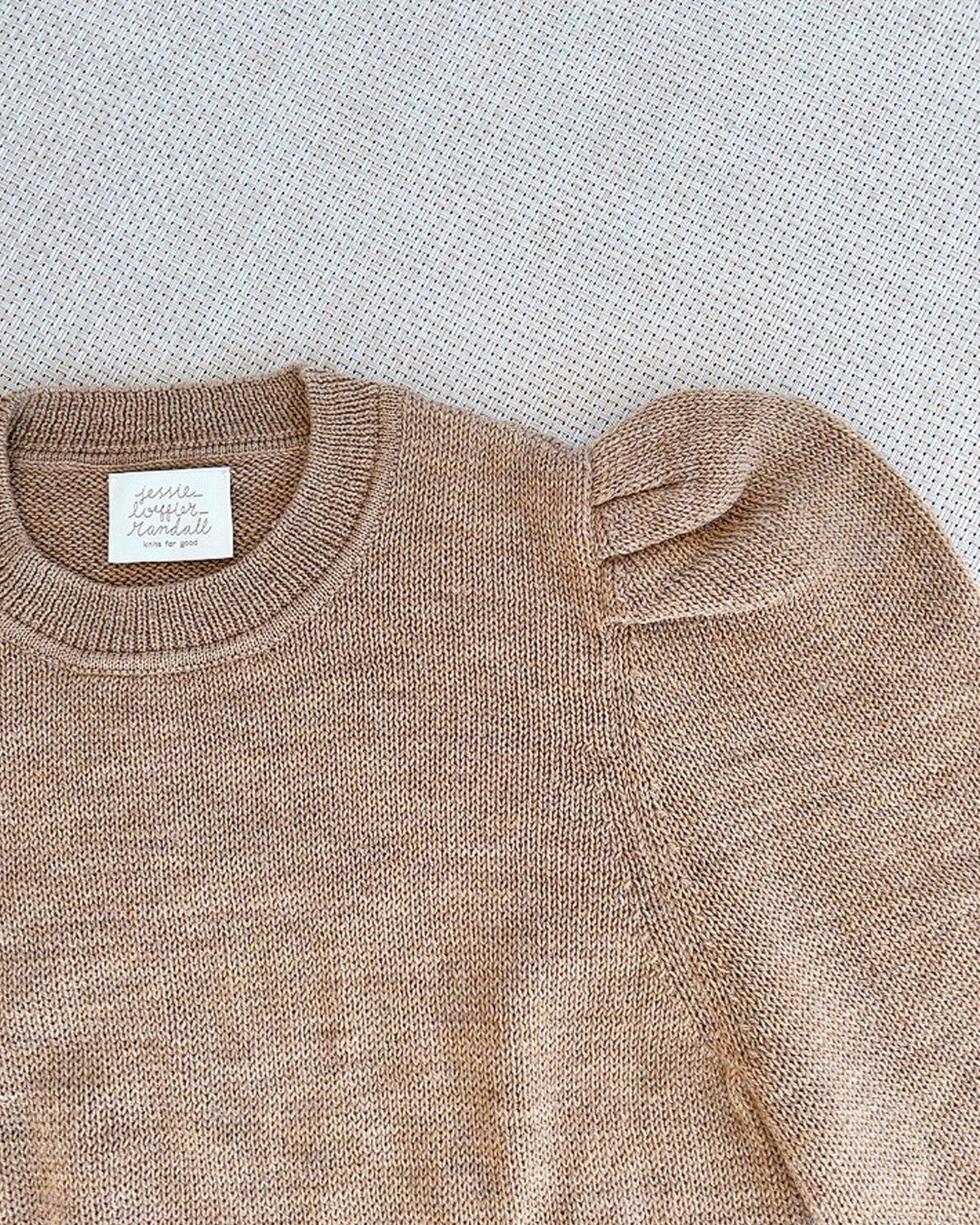 Knits for Good Camel Sweater 2