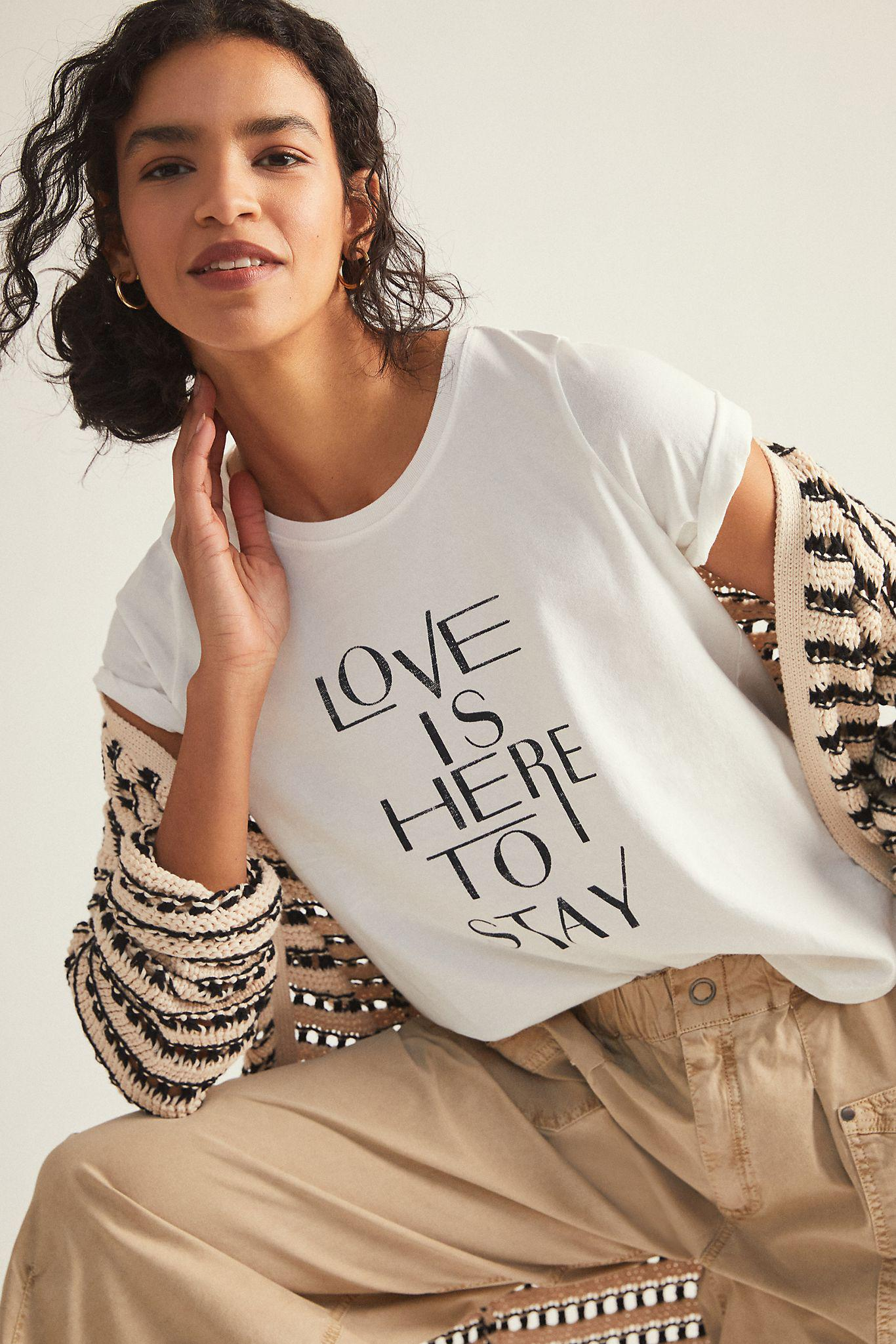 Love Is Here To Stay Graphic Tee