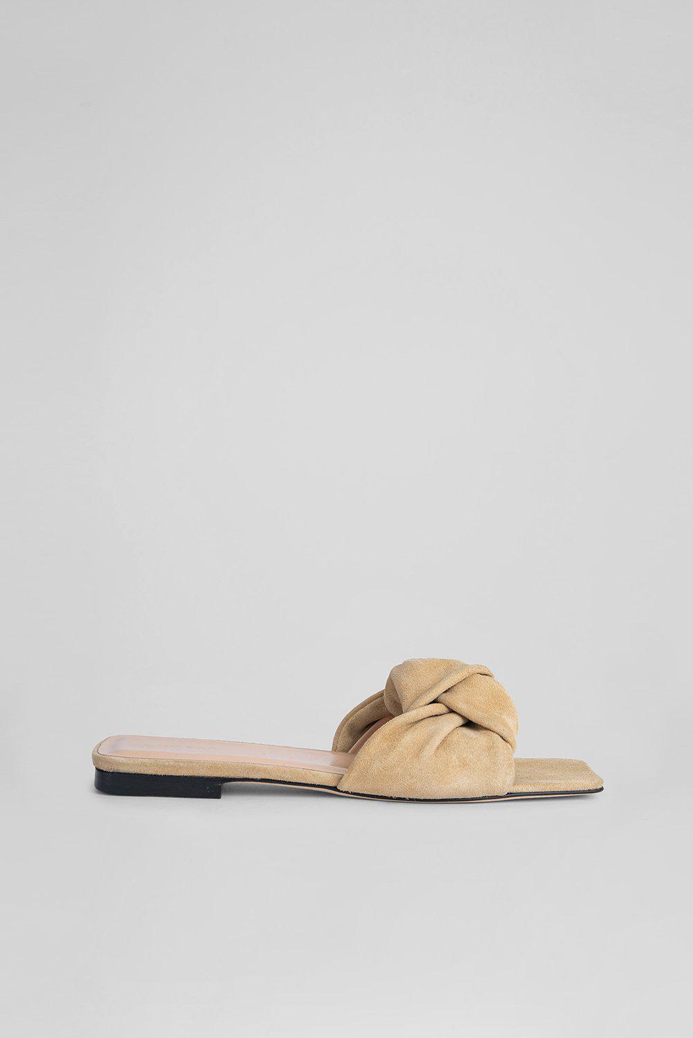 Lima Cappuccino Suede Leather