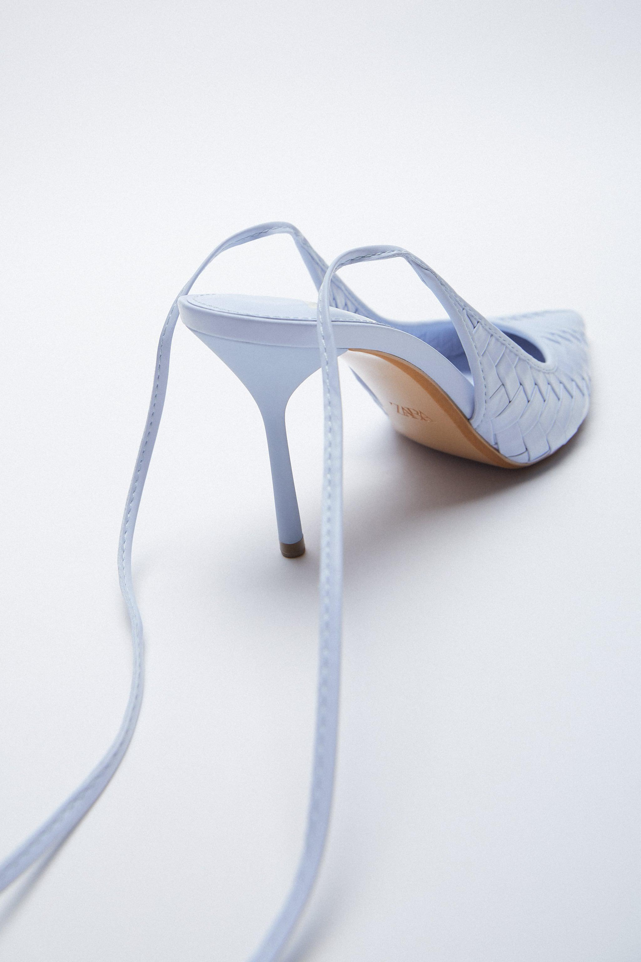 WOVEN HEELS WITH ANKLE STRAP 3