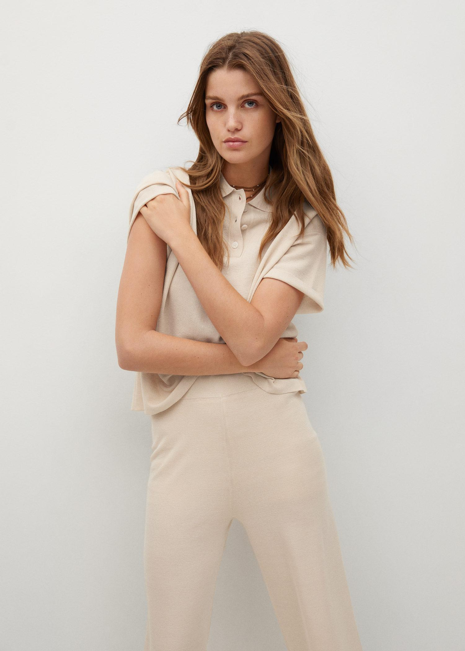 Knitted culotte trousers 3