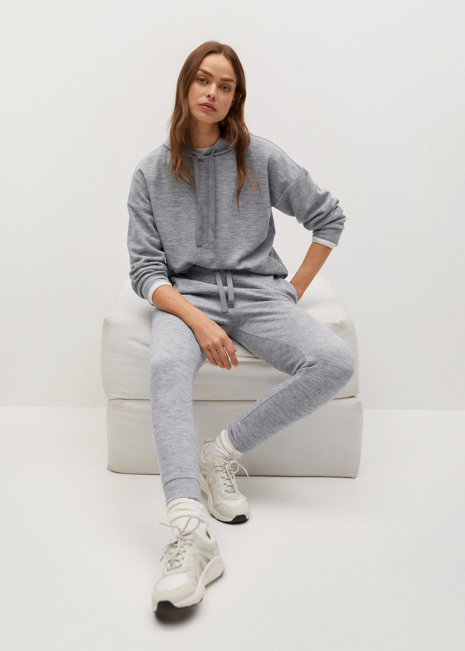 Knit jogger-style trousers 5