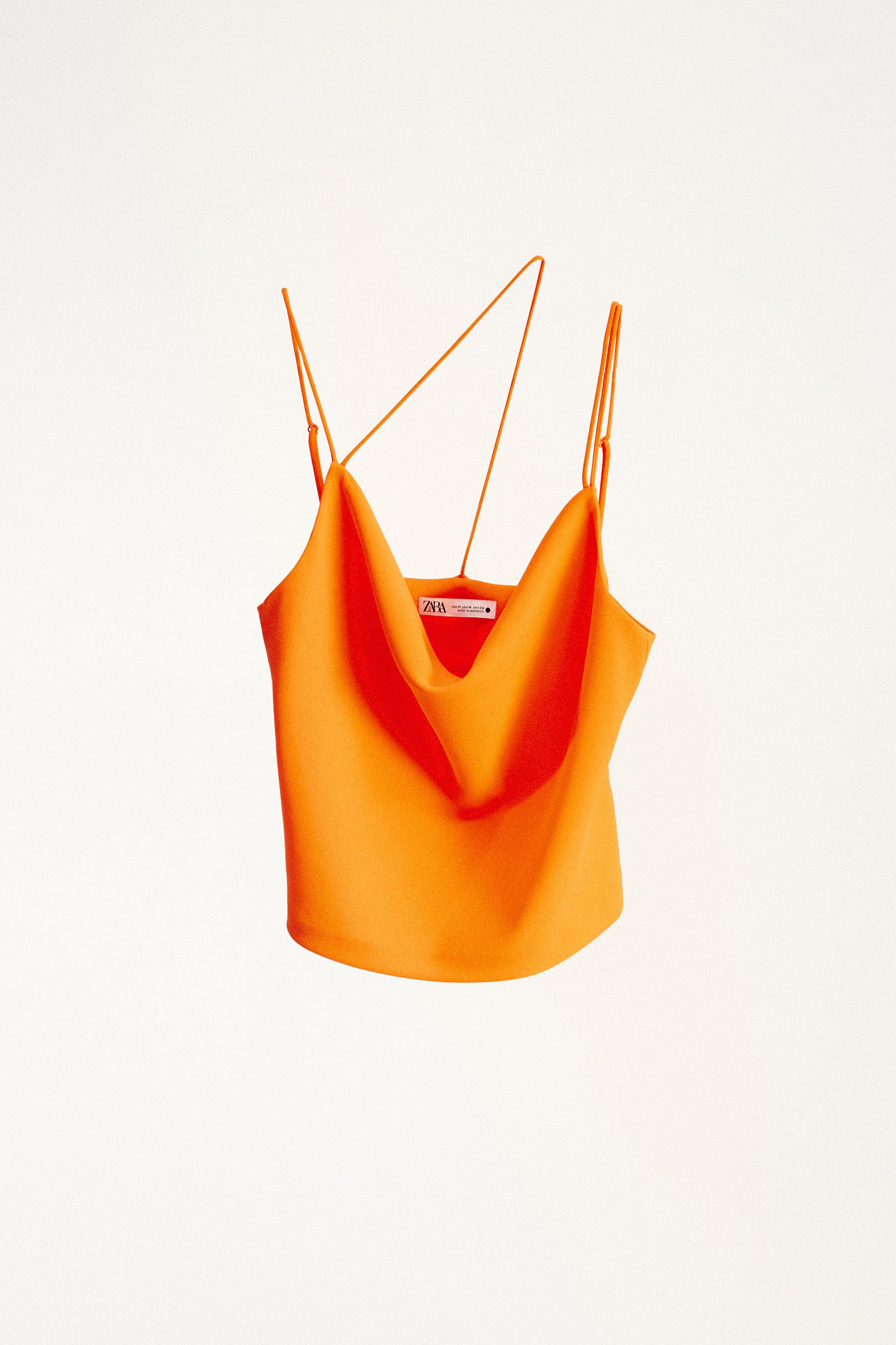 MULTIPOSITION STRAP TANK TOP