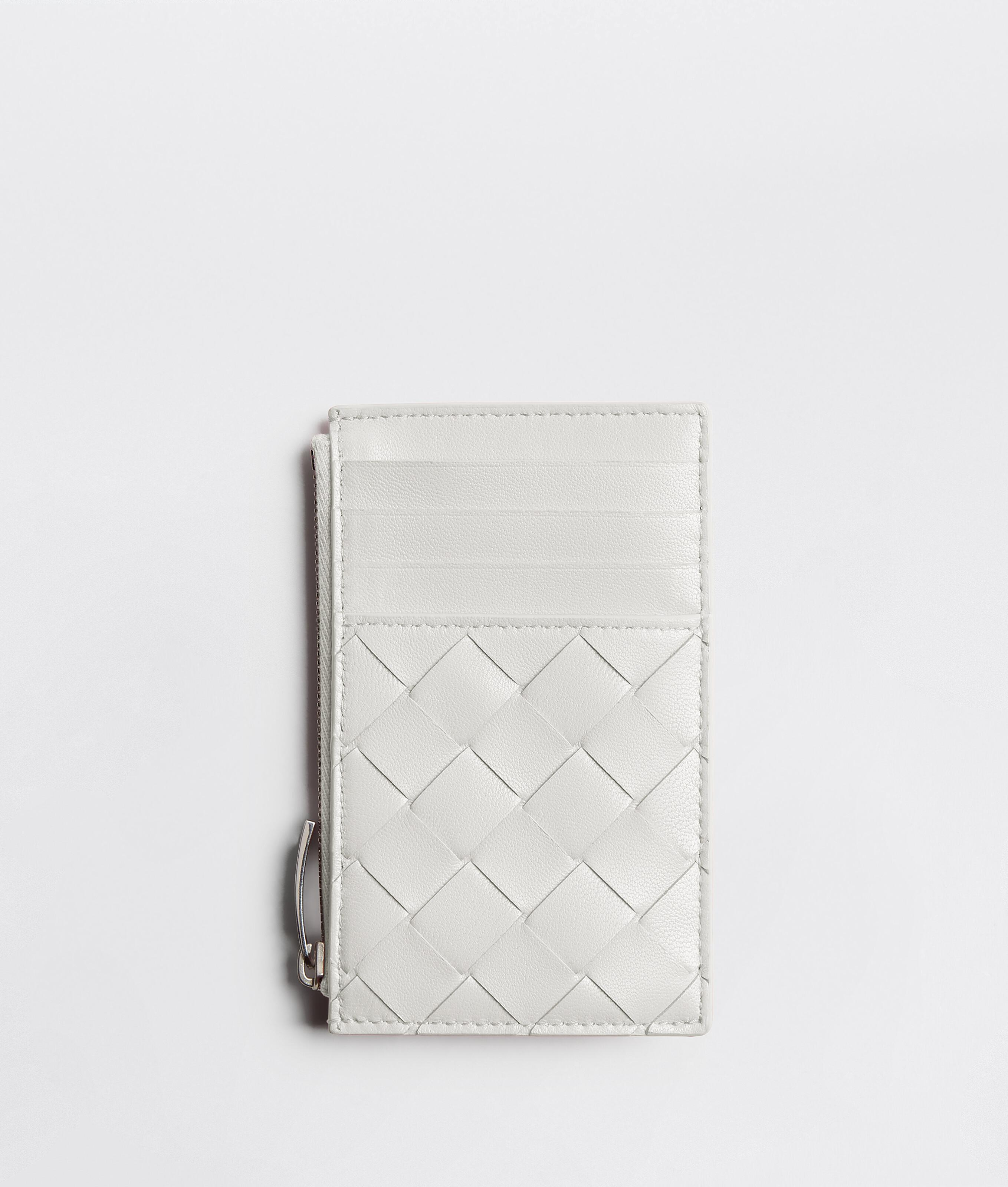 ZIPPED CARD HOLDER WITH COIN PURSE