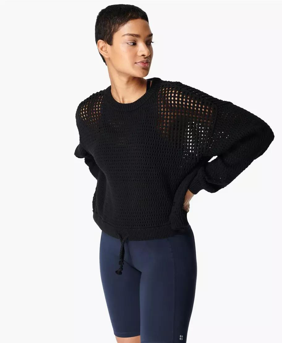 Tides High Open Weave Sweater