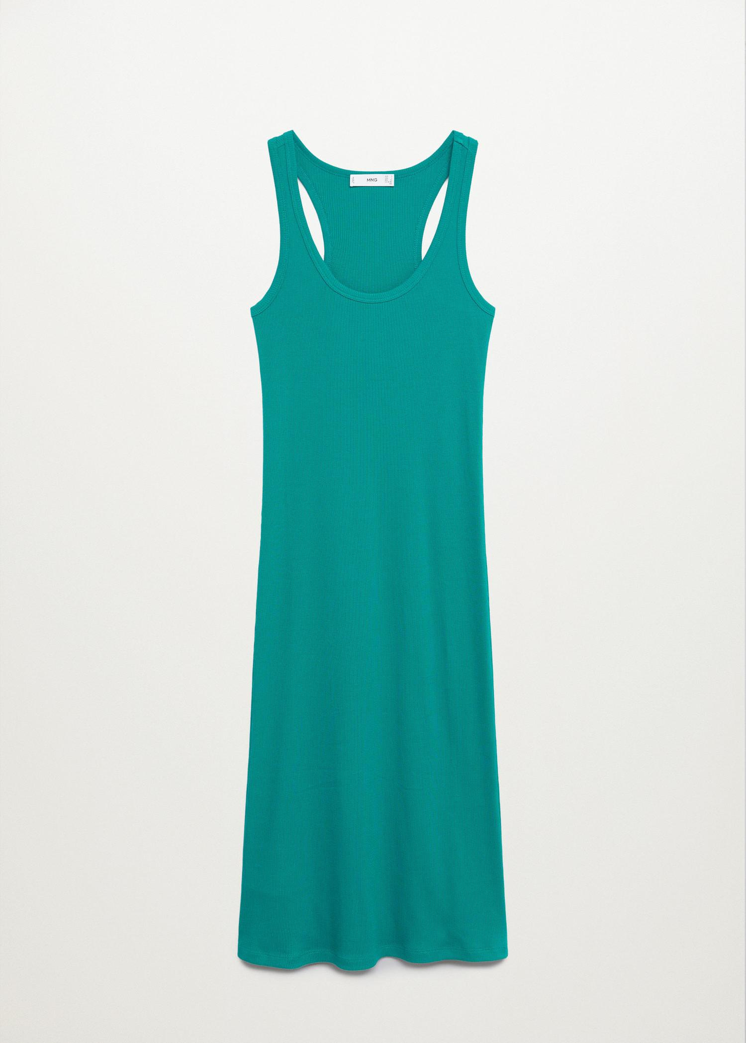 Fitted cotton dress 7