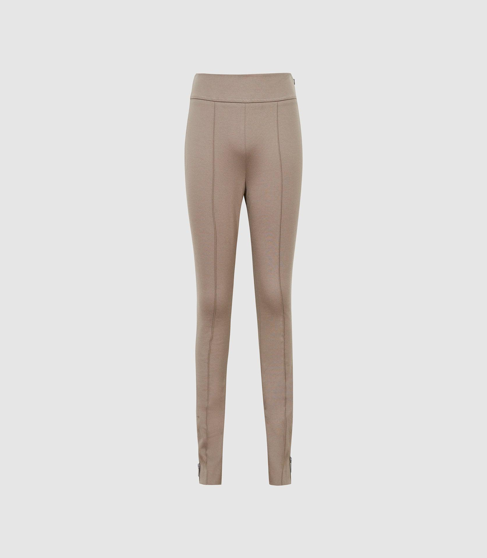 ISLA - PONTE TROUSERS WITH ZIP DETAIL 4