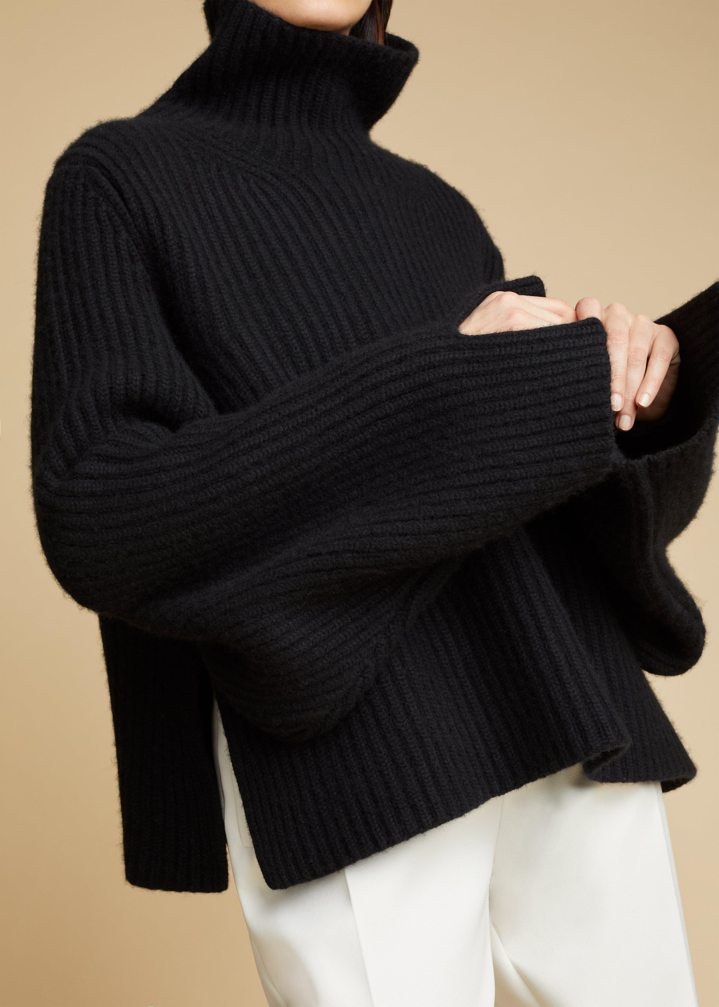 The Molly Sweater in Black 5