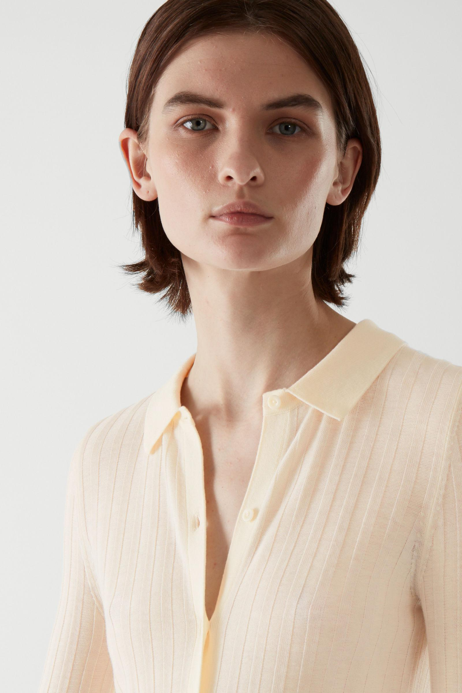 MERINO WOOL TRANSPARENT KNITTED TOP 2