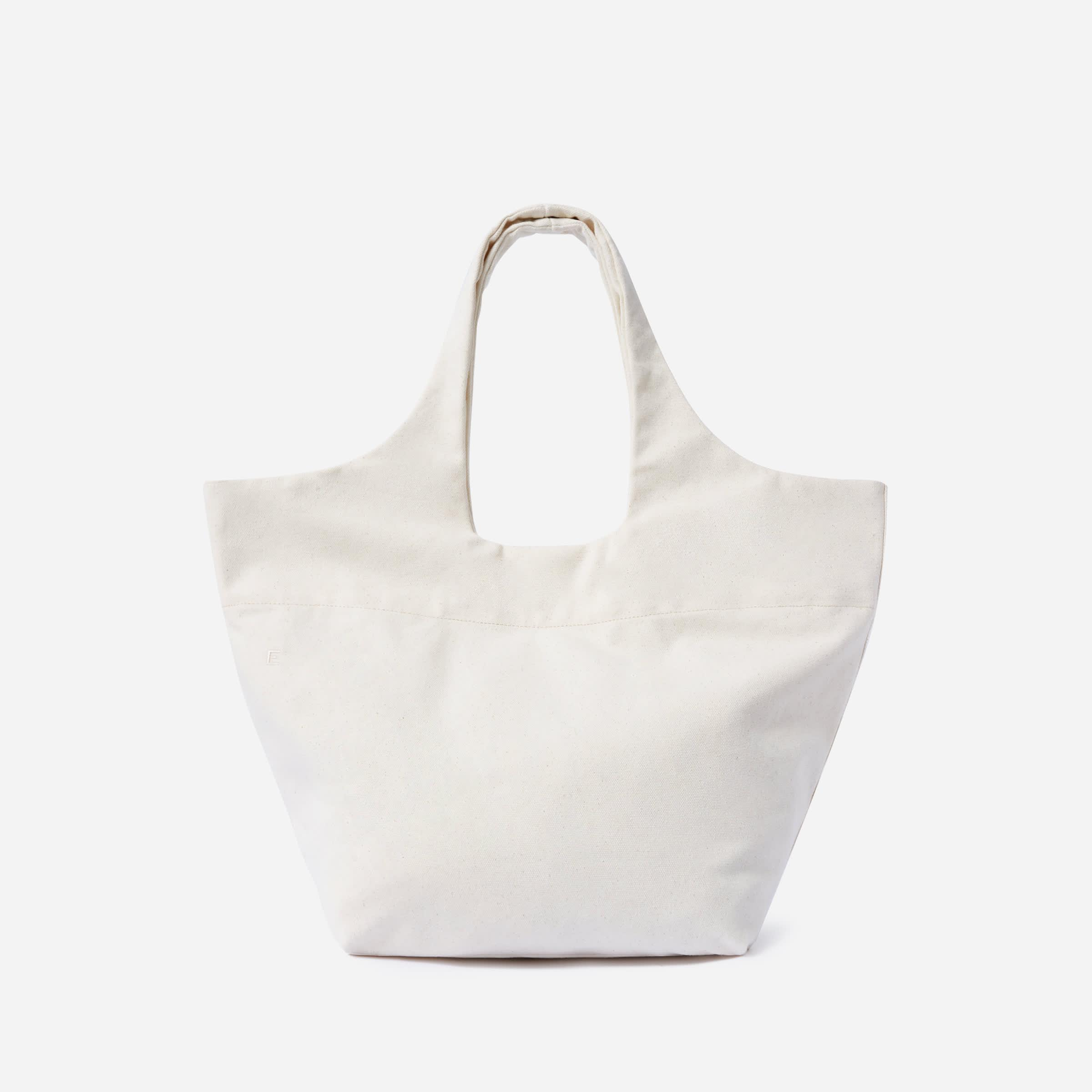 The Canvas Basket Tote