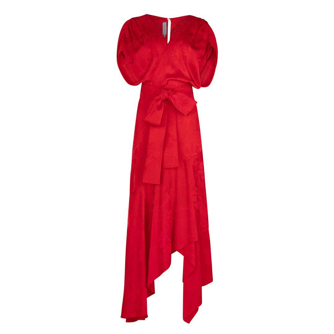 Protea Dress Red