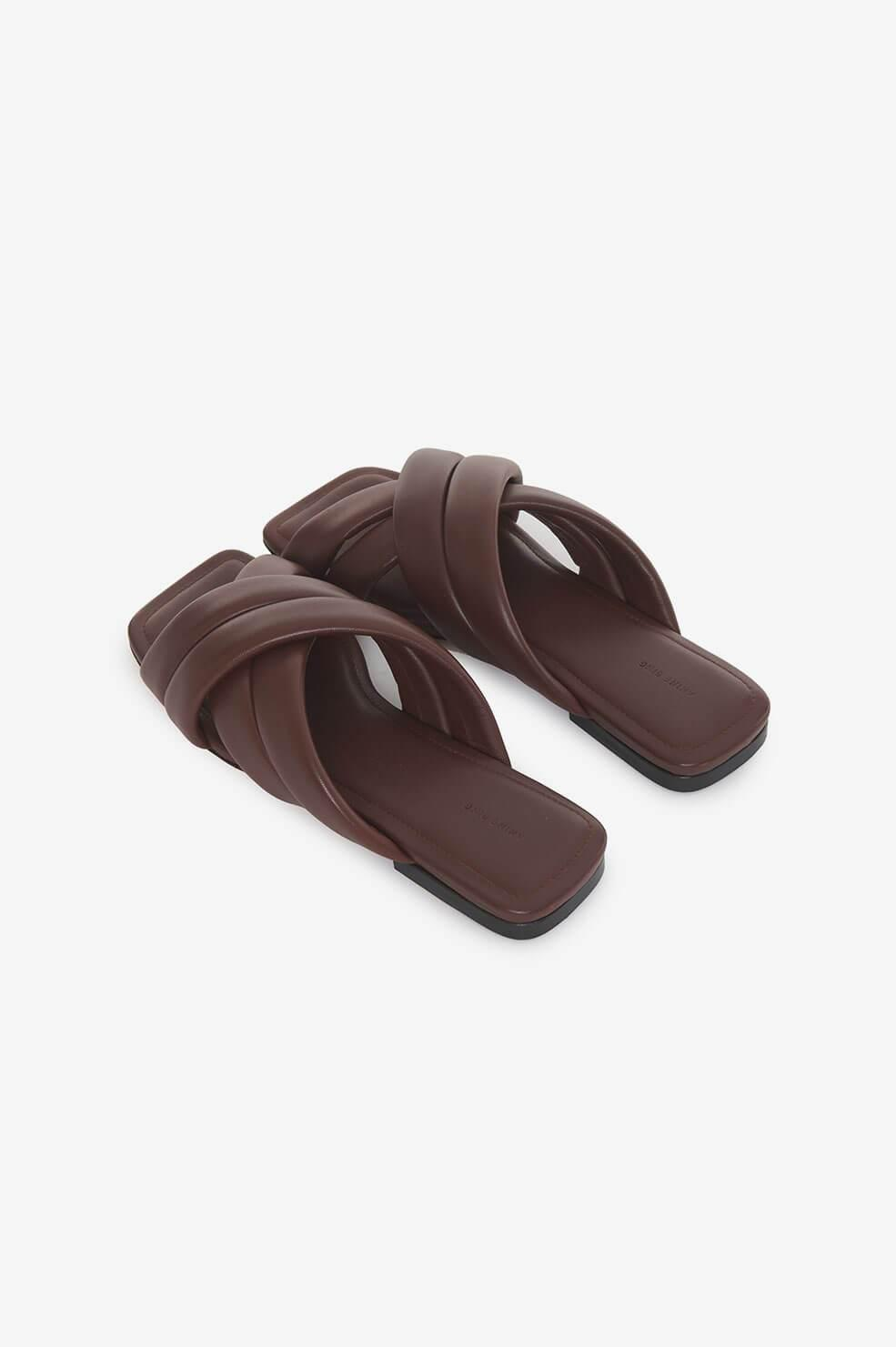 Eve Sandals - Chocolate Brown 3