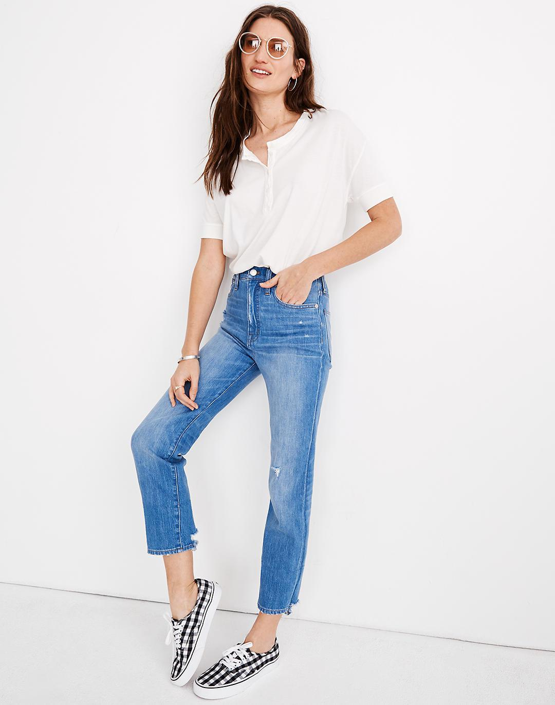 Tall Classic Straight Jeans in Novello Wash