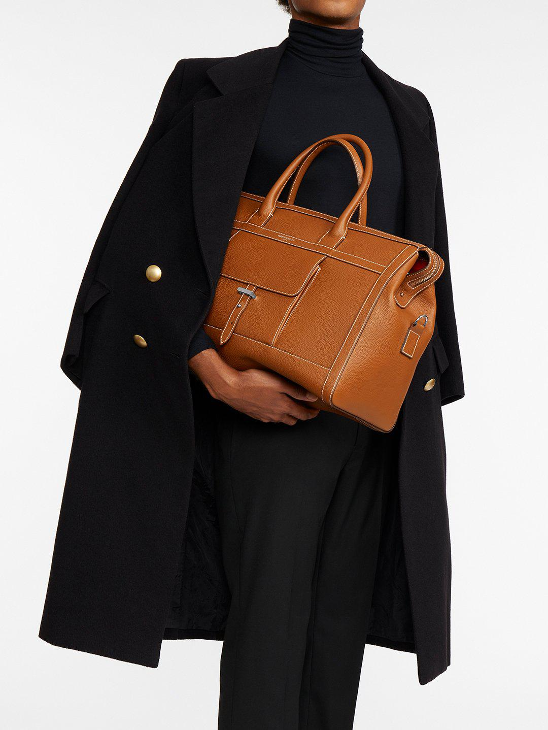 Mick Holdall Leather Duffle Bag 9