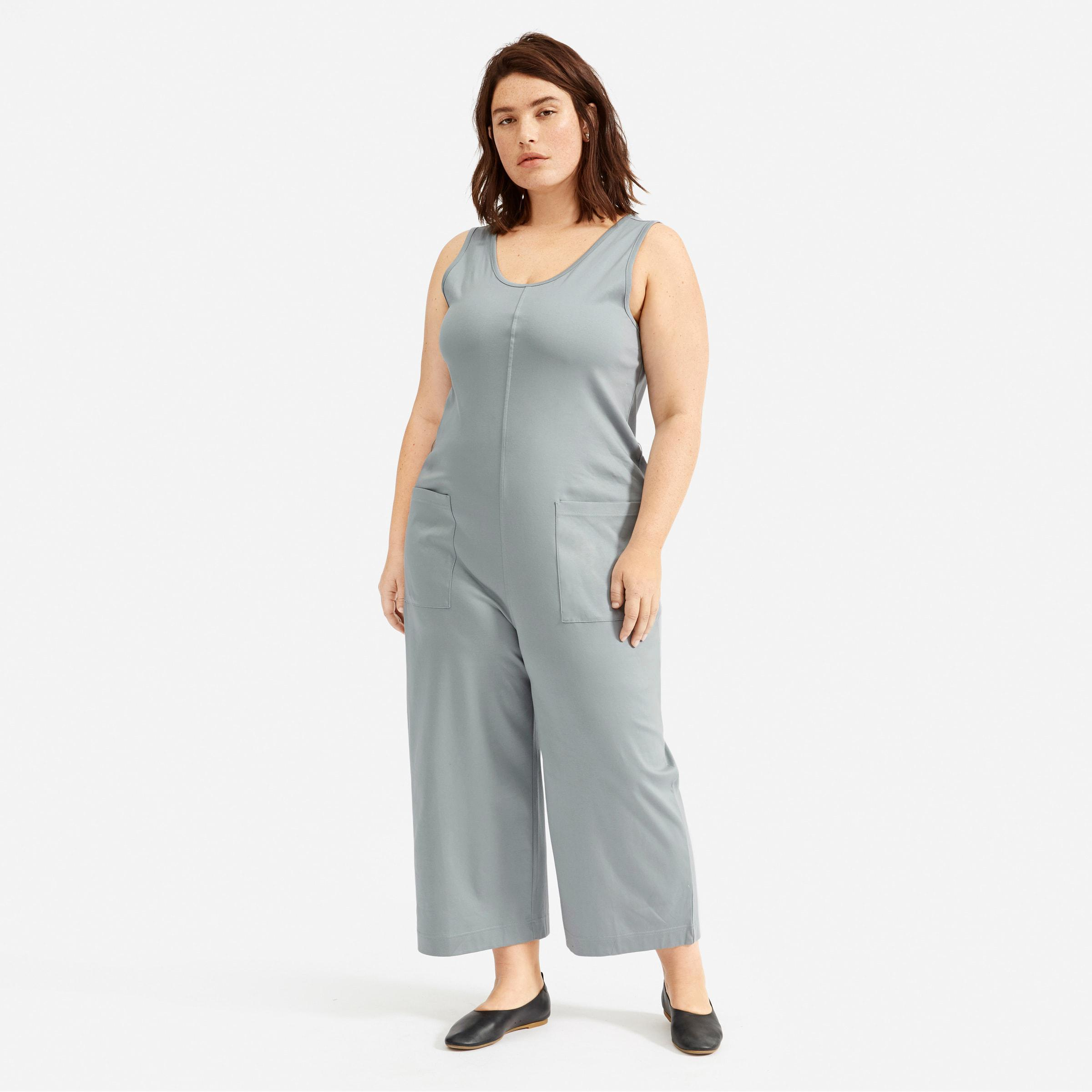 The Luxe Cotton Jumpsuit 0