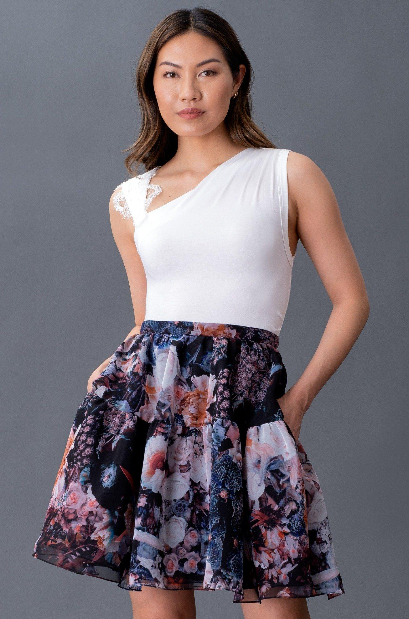 HARPER TANK WITH LACE 0