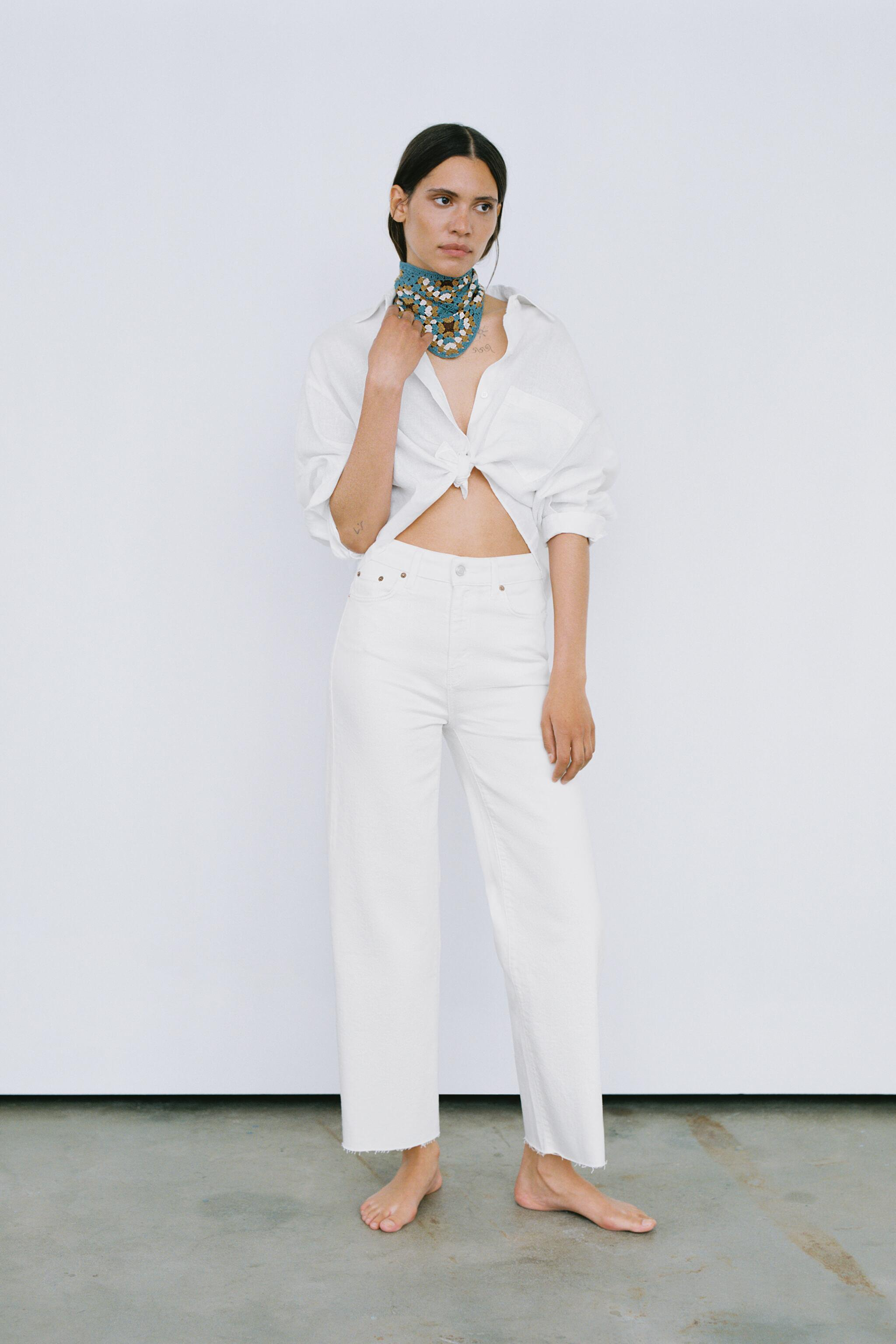 ZW THE HIGH WAIST CULOTTES JEANS