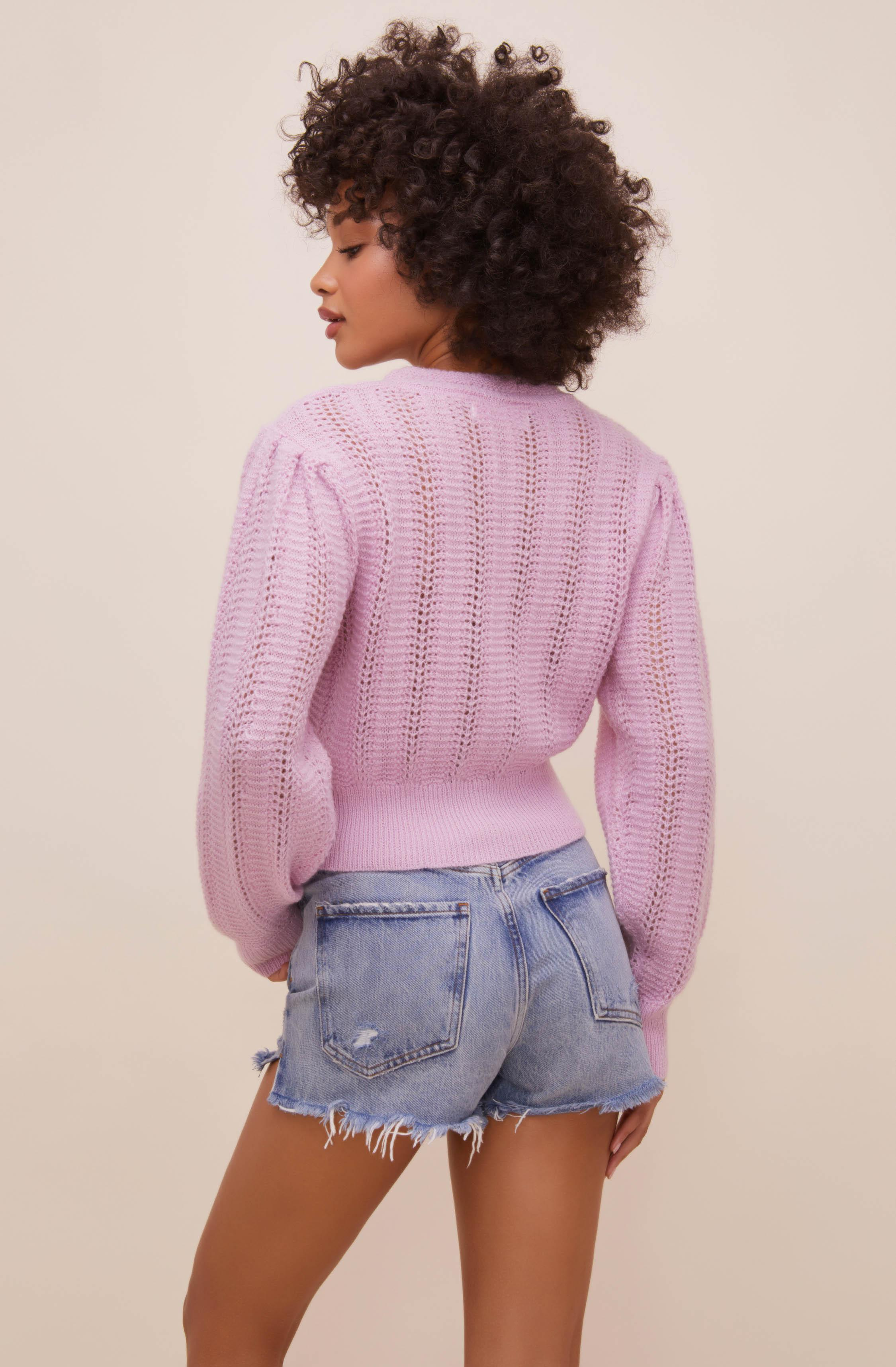 Taya Floral Embroidered Sweater 3