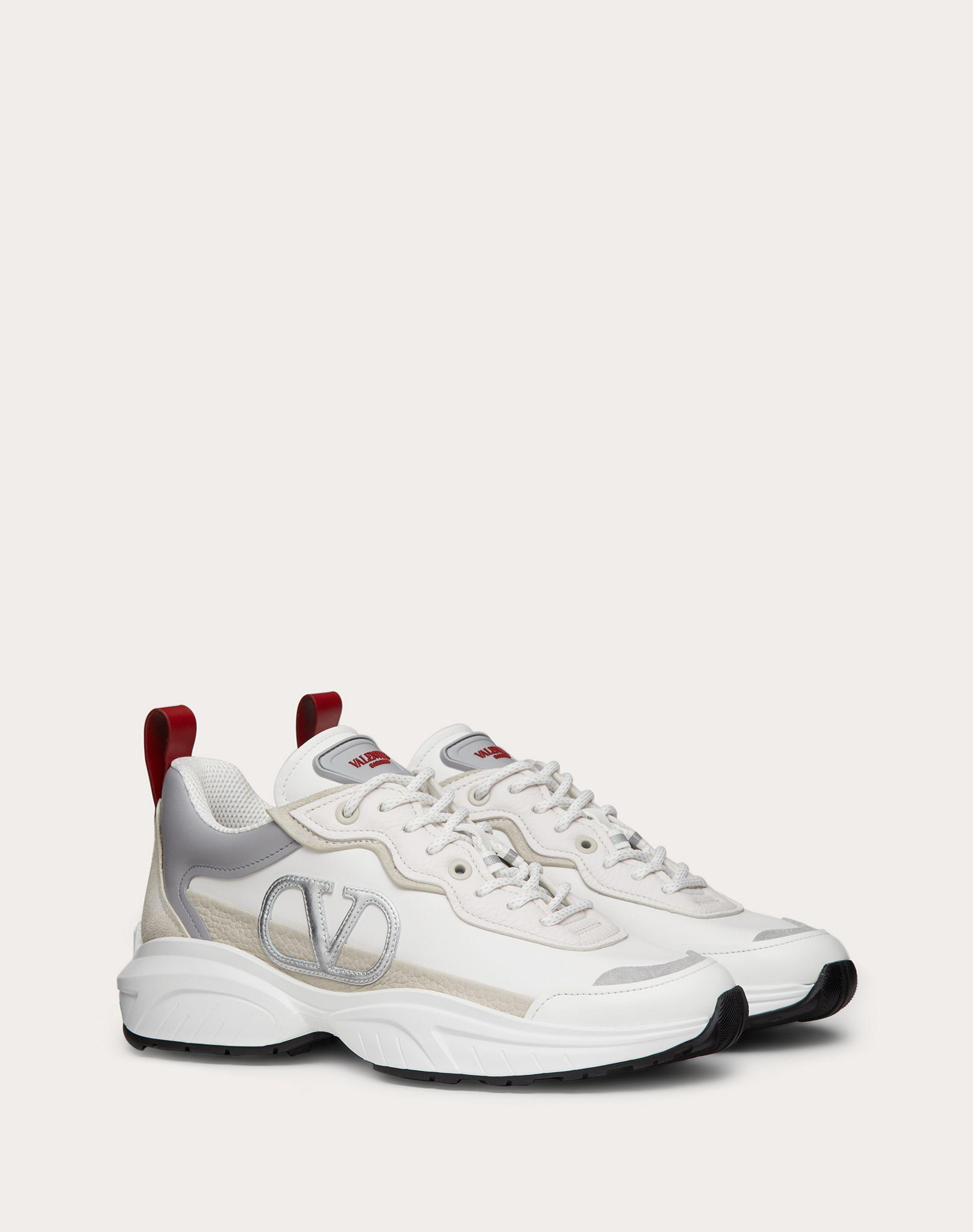 SHEGOES Sneaker in split leather and calfskin leather 1