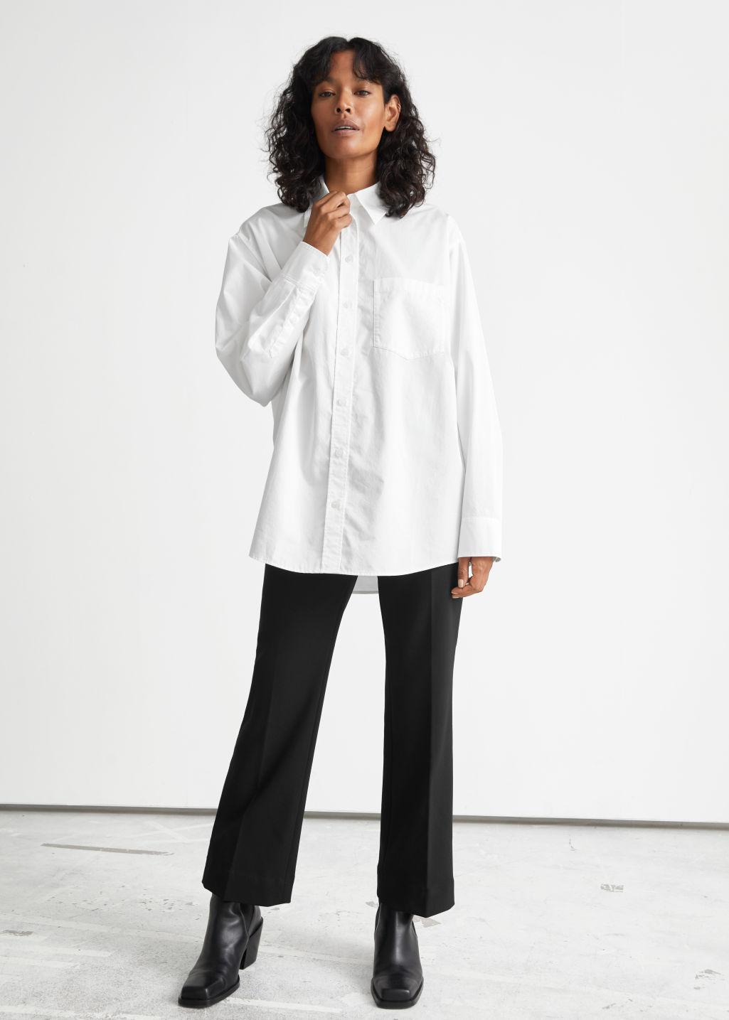 Tailored Kick Flare Trousers